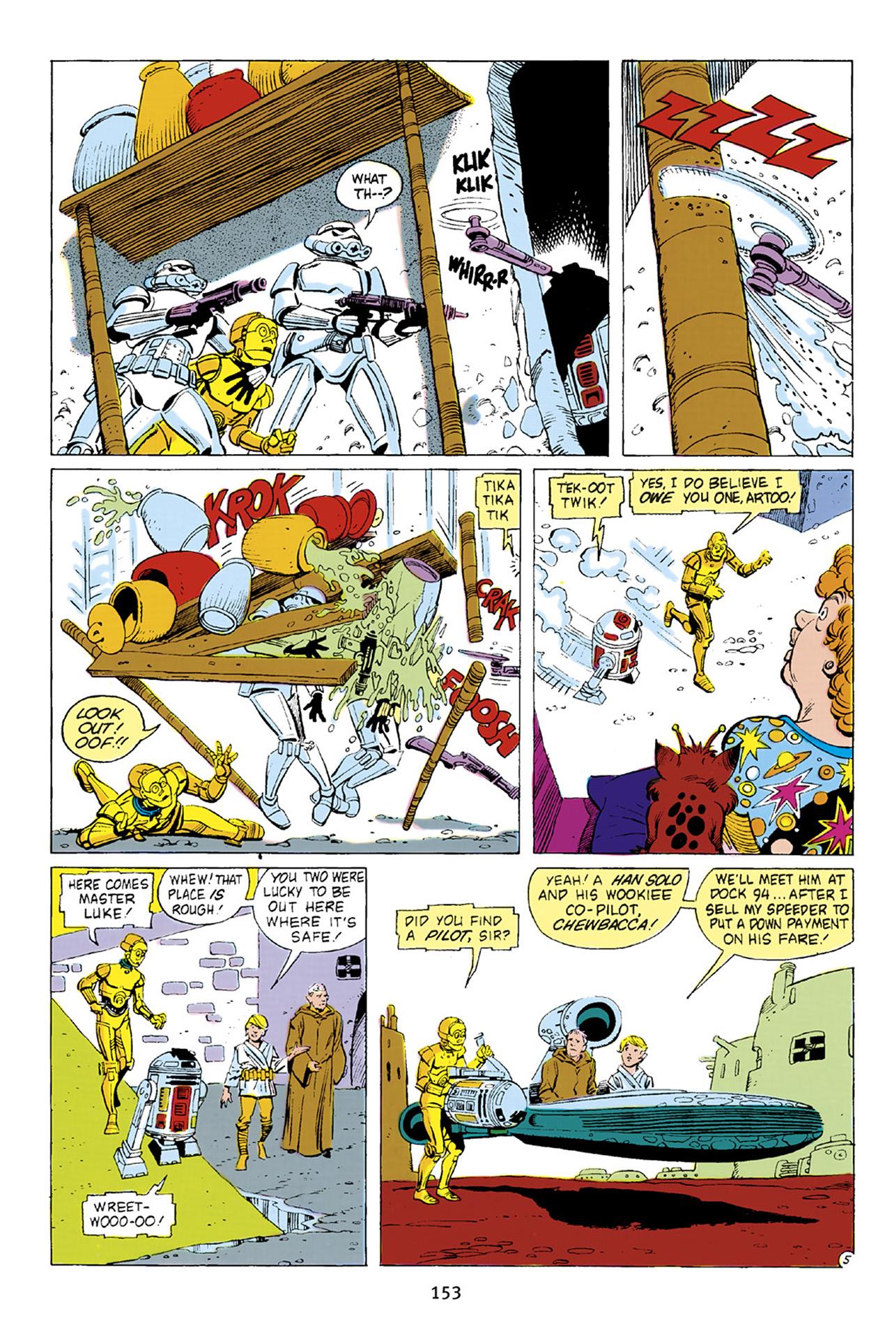 Read online Star Wars Omnibus comic -  Issue # Vol. 23 - 152