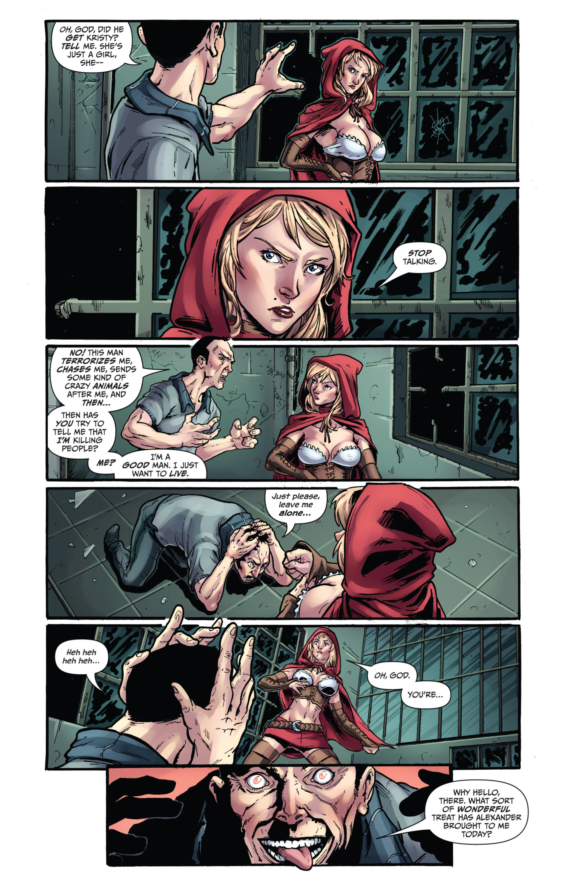 Read online Grimm Fairy Tales presents Grimm Universe comic -  Issue # TPB - 89