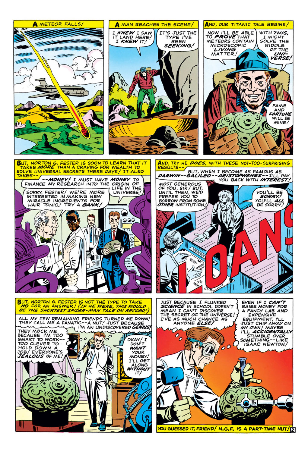 The Amazing Spider-Man (1963) 36 Page 2