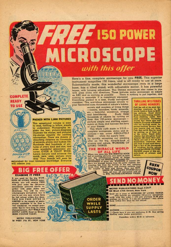 Read online Sensation (Mystery) Comics comic -  Issue #36 - 50