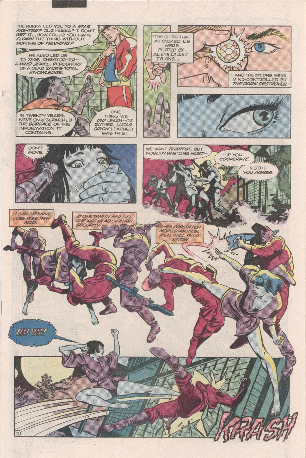Read online Atari Force (1984) comic -  Issue #9 - 21