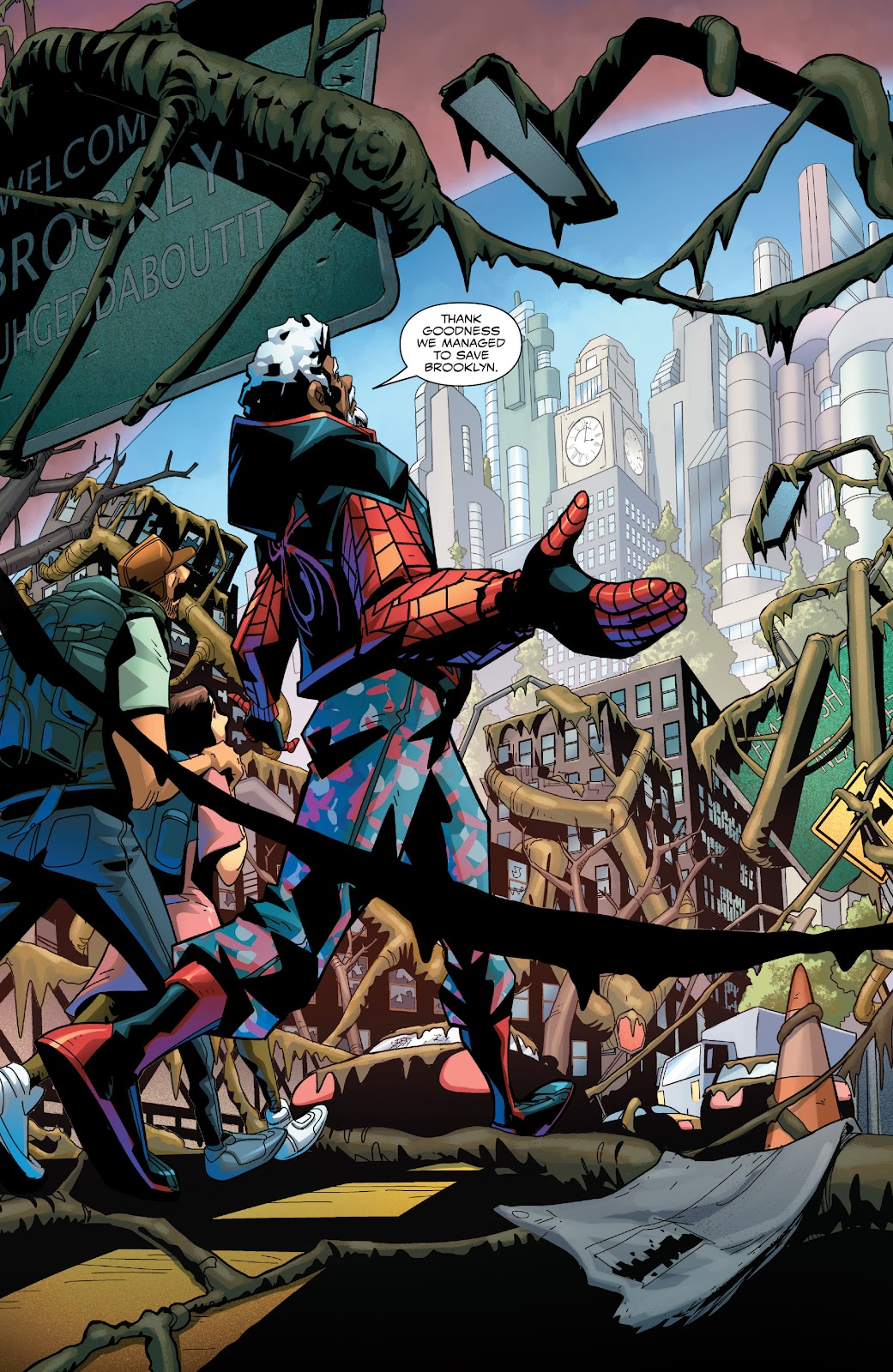 Read online Miles Morales: The End comic -  Issue # Full - 7