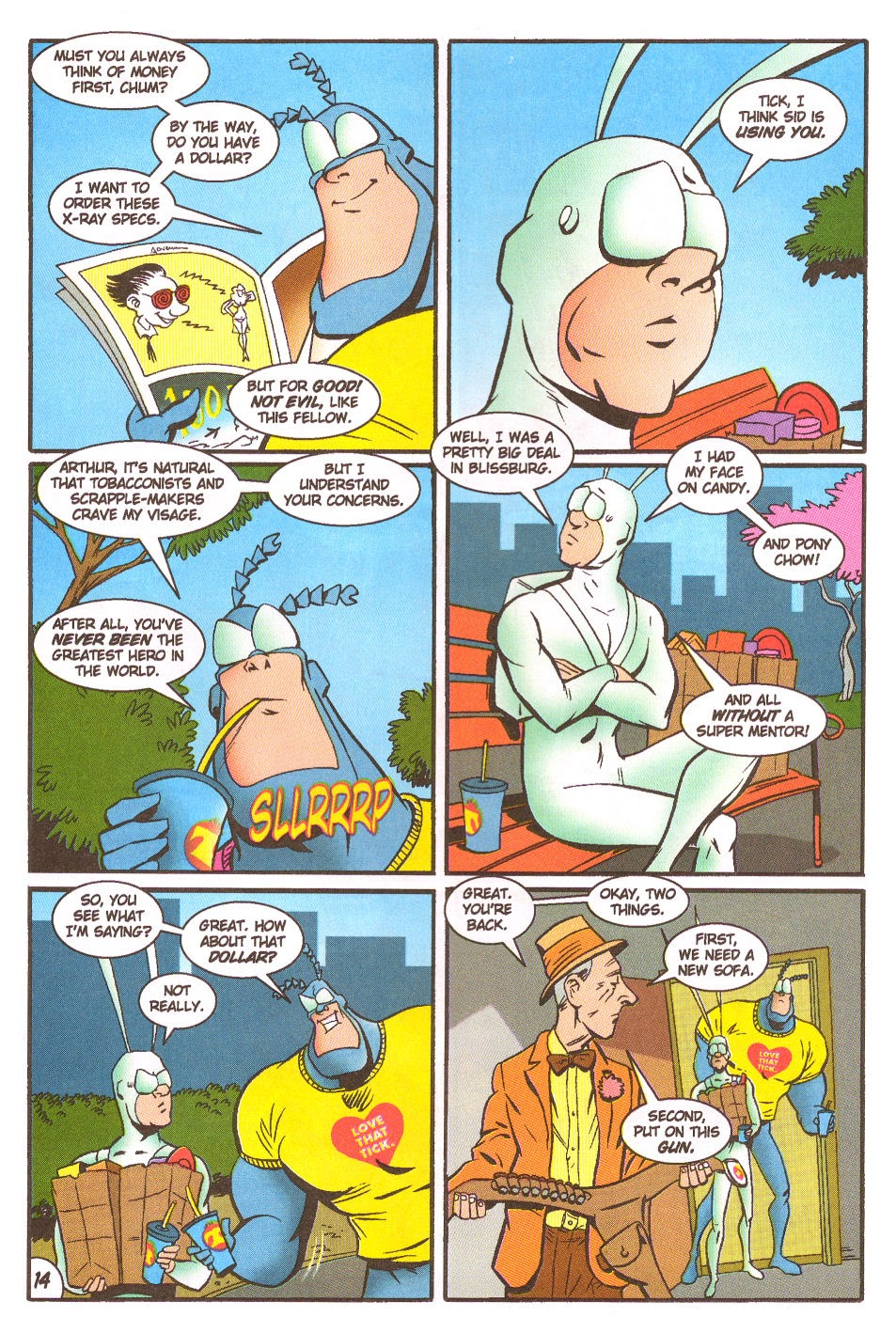 Read online The Tick: Days of Drama comic -  Issue #5 - 16