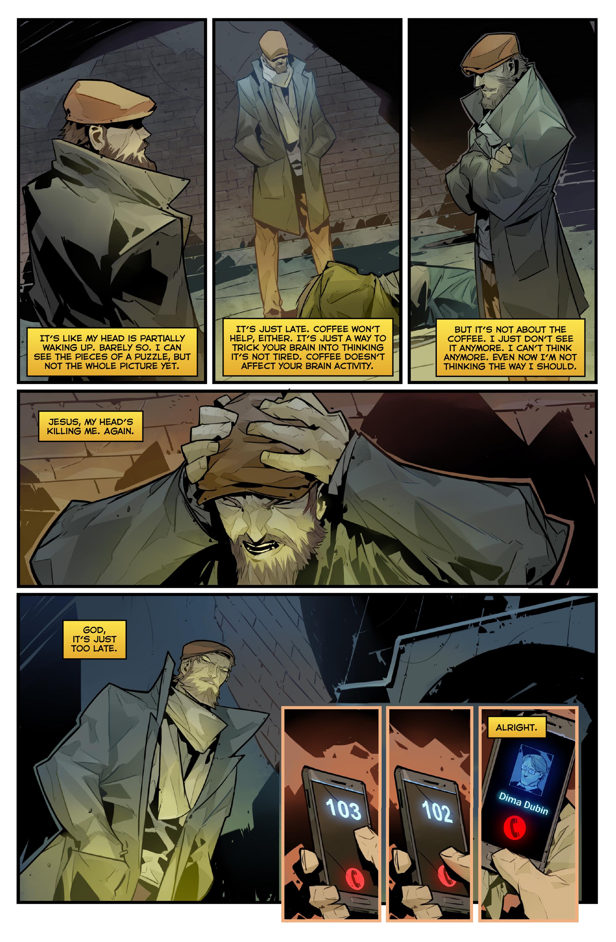 Read online Igor Grom comic -  Issue #4 - 21