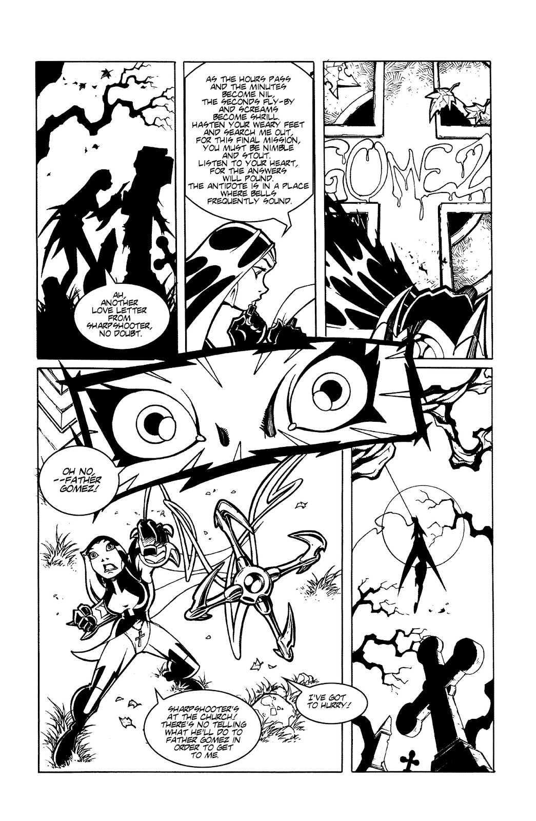 Warrior Nun Areala:  Dangerous Game Issue #3 #3 - English 10