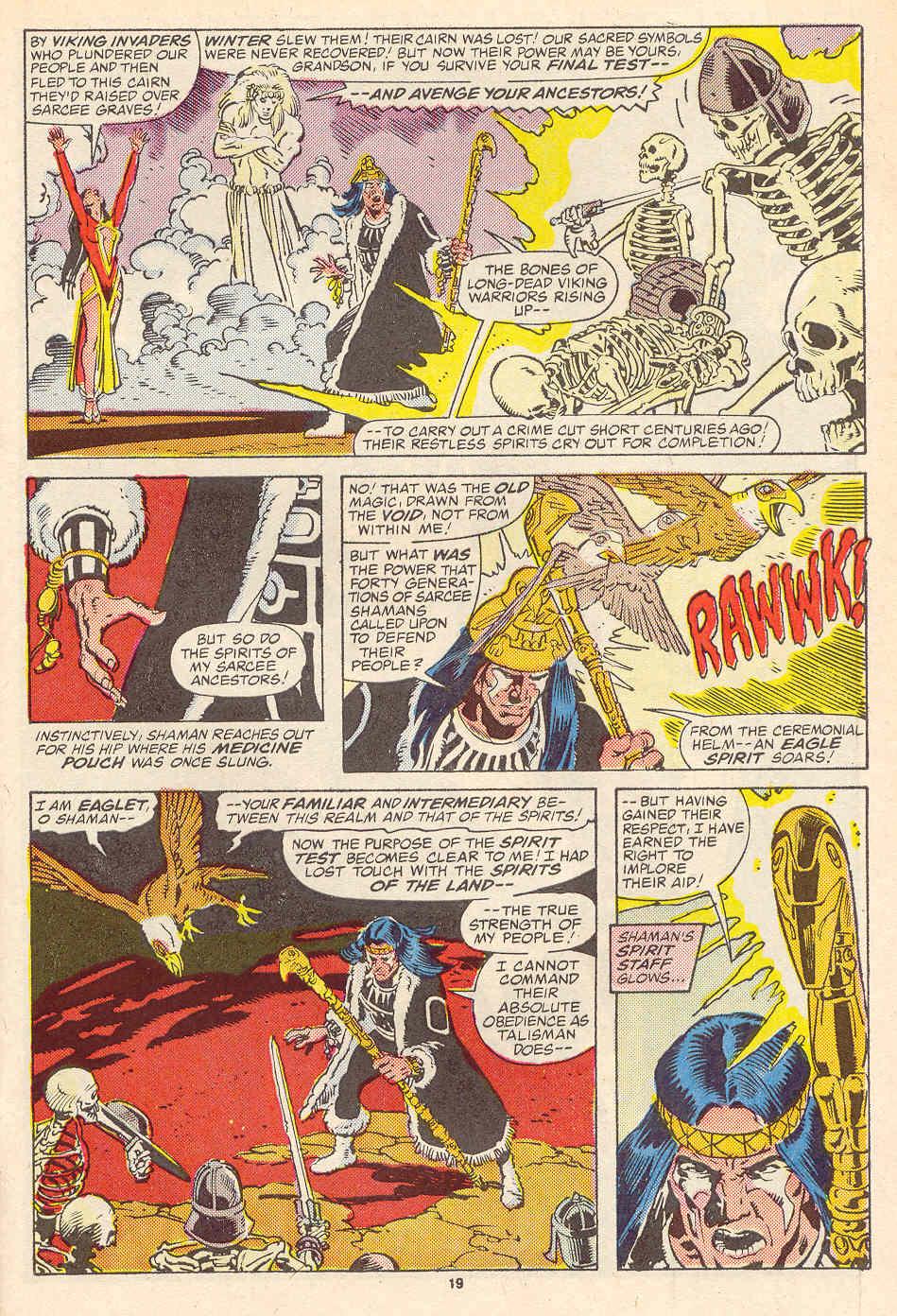 Read online Alpha Flight (1983) comic -  Issue #35 - 20