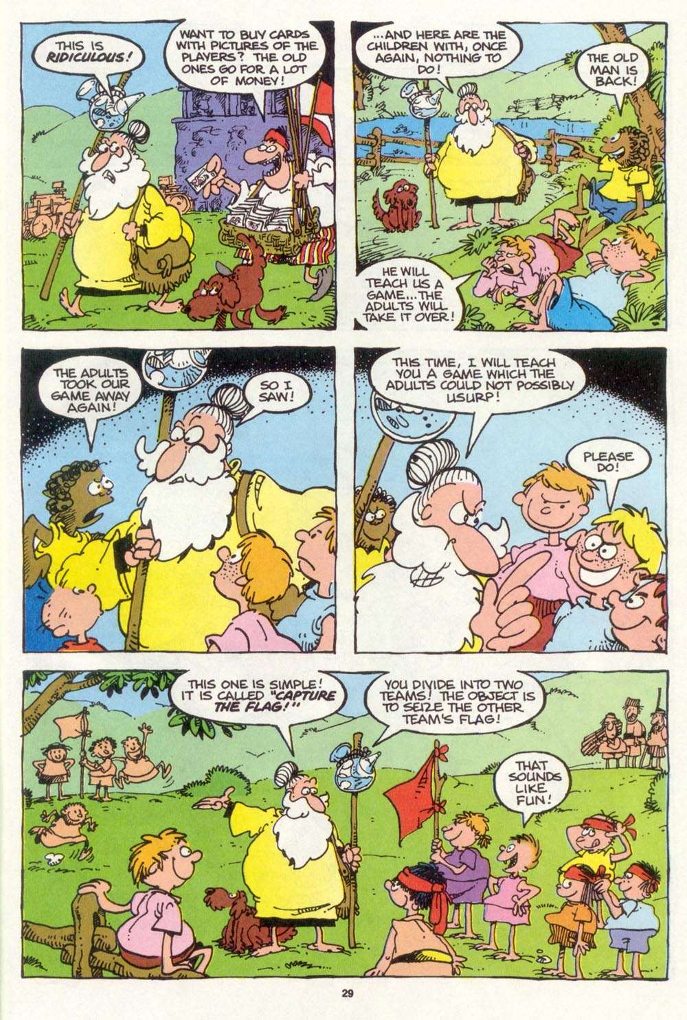 Read online Sergio Aragonés Groo the Wanderer comic -  Issue #105 - 31
