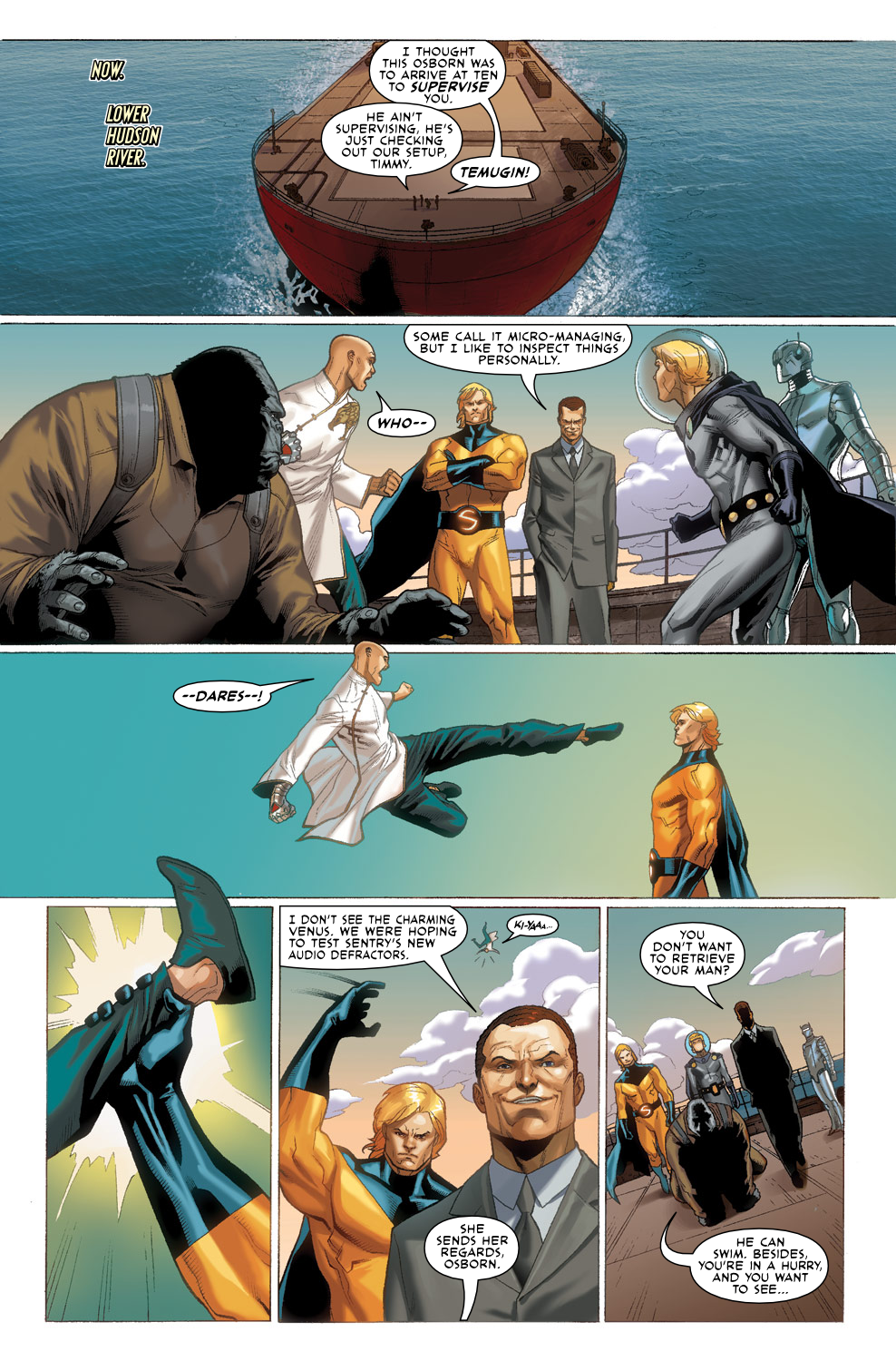 Read online Agents Of Atlas (2009) comic -  Issue #3 - 19