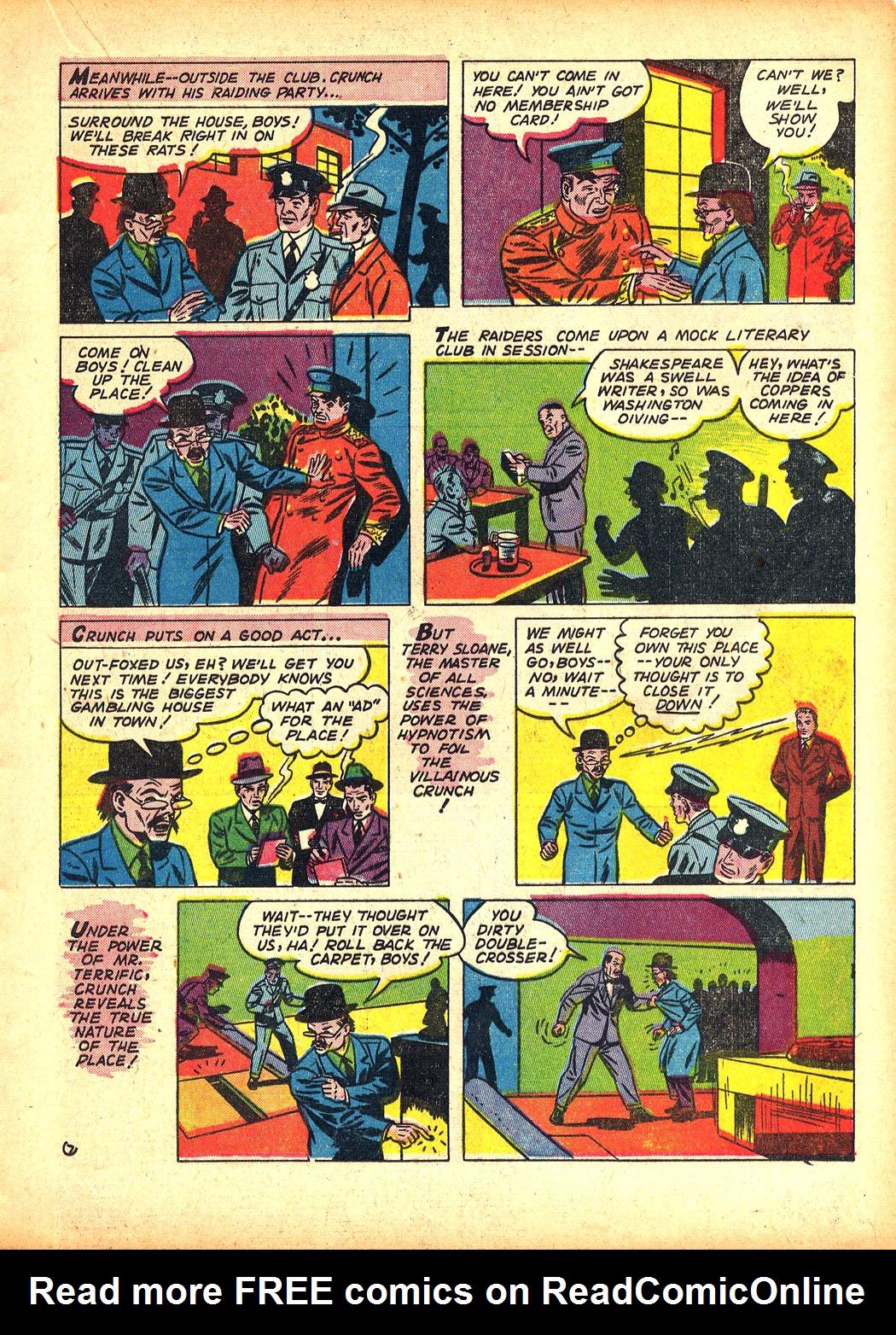 Read online Sensation (Mystery) Comics comic -  Issue #5 - 31