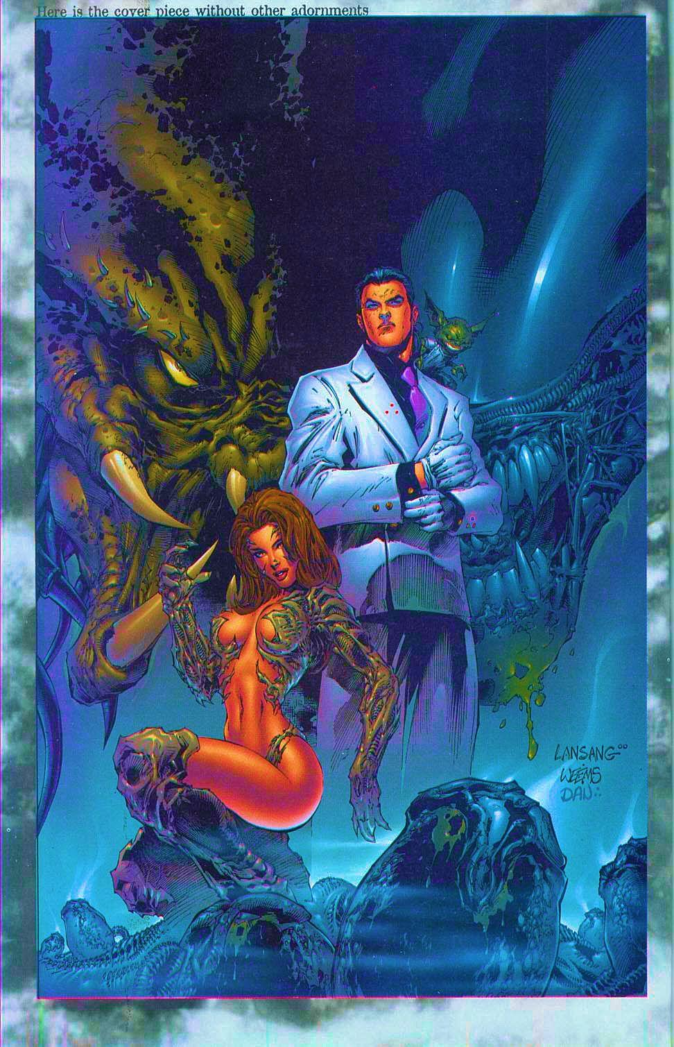 Read online Overkill: Witchblade/Aliens/Darkness/Predator comic -  Issue #1 - 31