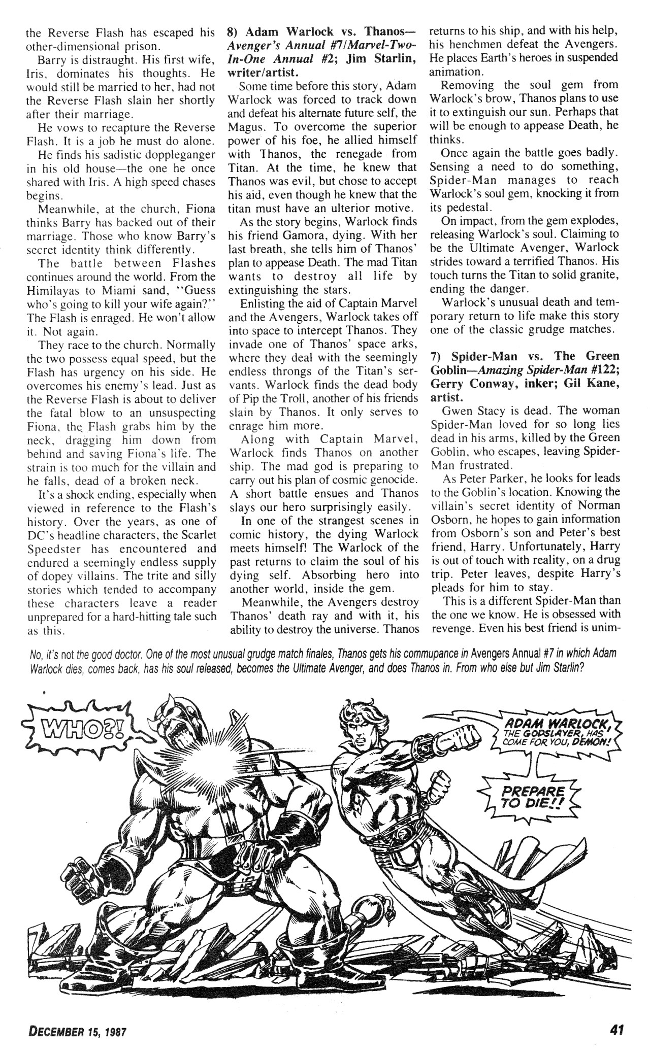 Read online Amazing Heroes comic -  Issue #131 - 41