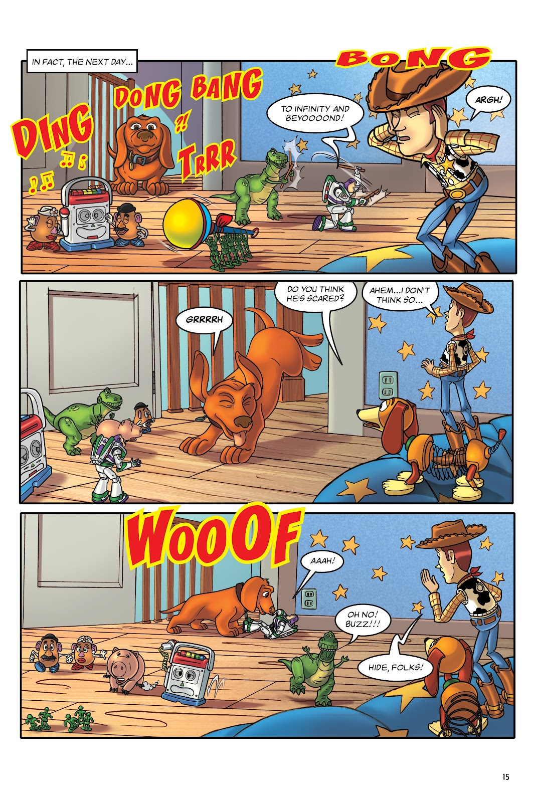 Read online DISNEY·PIXAR Toy Story Adventures comic -  Issue # TPB 1 (Part 1) - 15