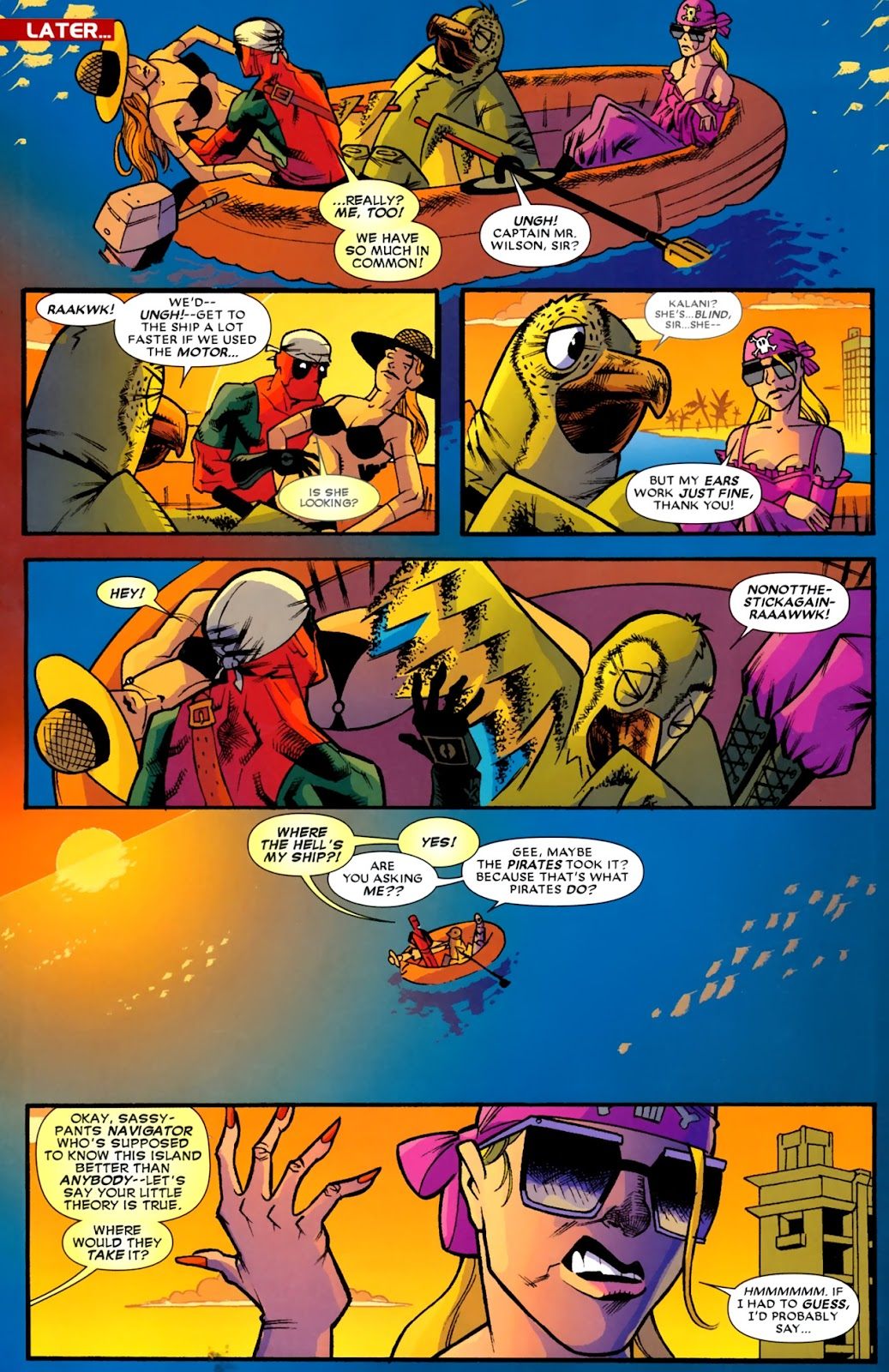 Read online Deadpool (2008) comic -  Issue #14 - 5