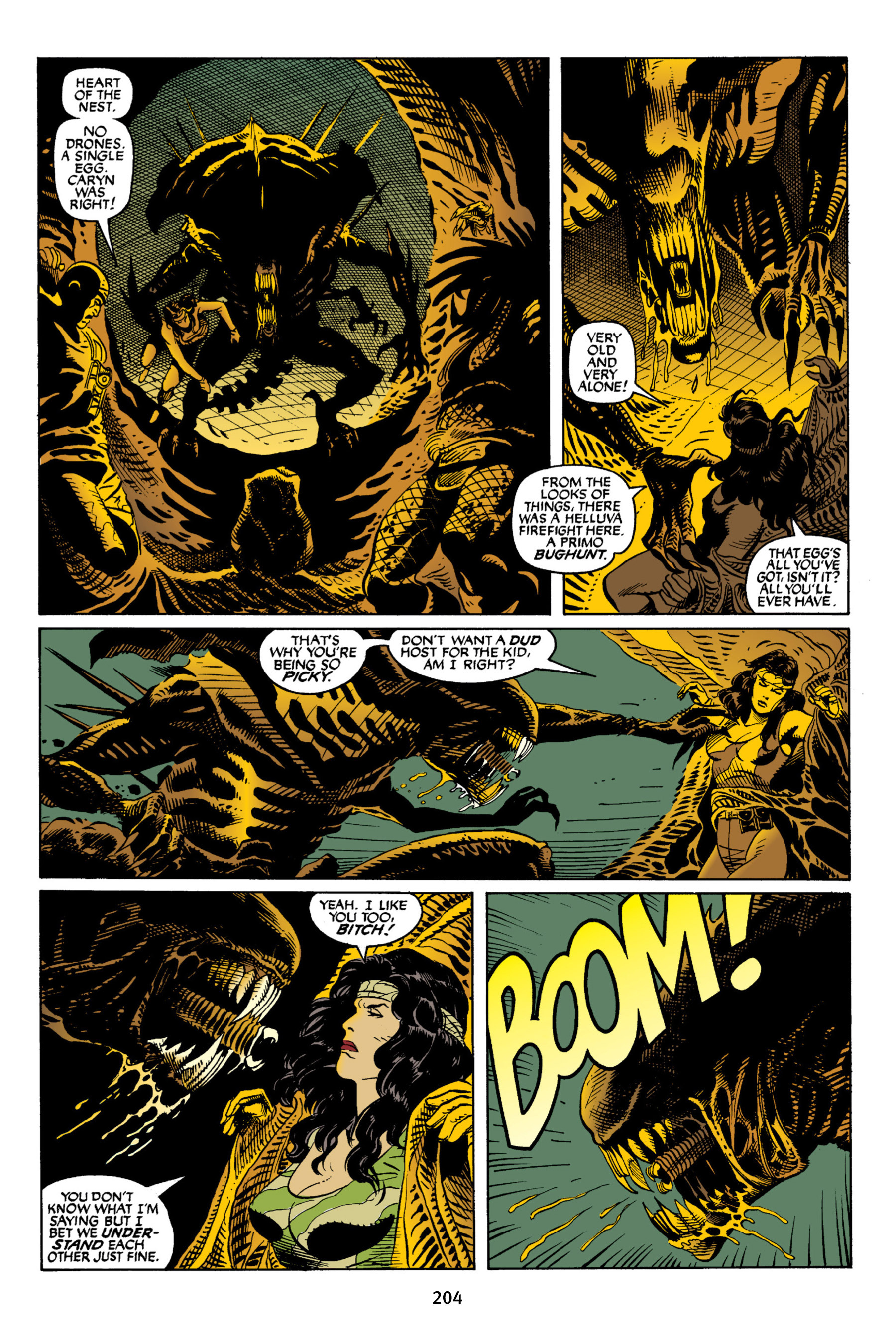 Read online Aliens vs. Predator Omnibus comic -  Issue # _TPB 2 Part 2 - 91