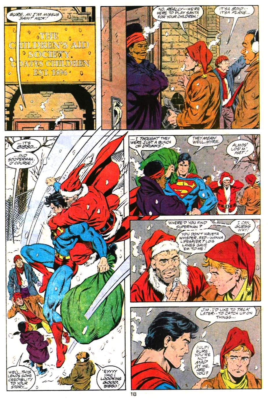 Read online Adventures of Superman (1987) comic -  Issue #487 - 19