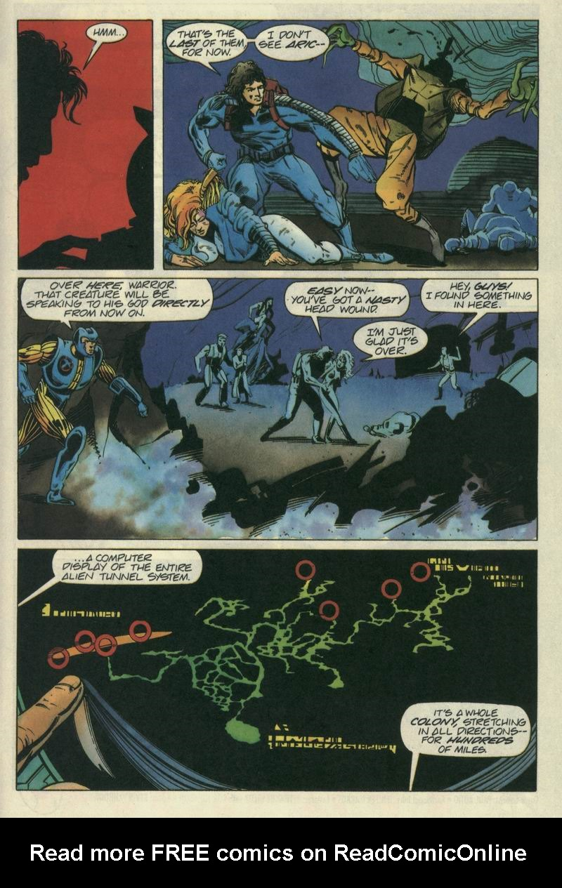Read online Secret Weapons comic -  Issue #7 - 20