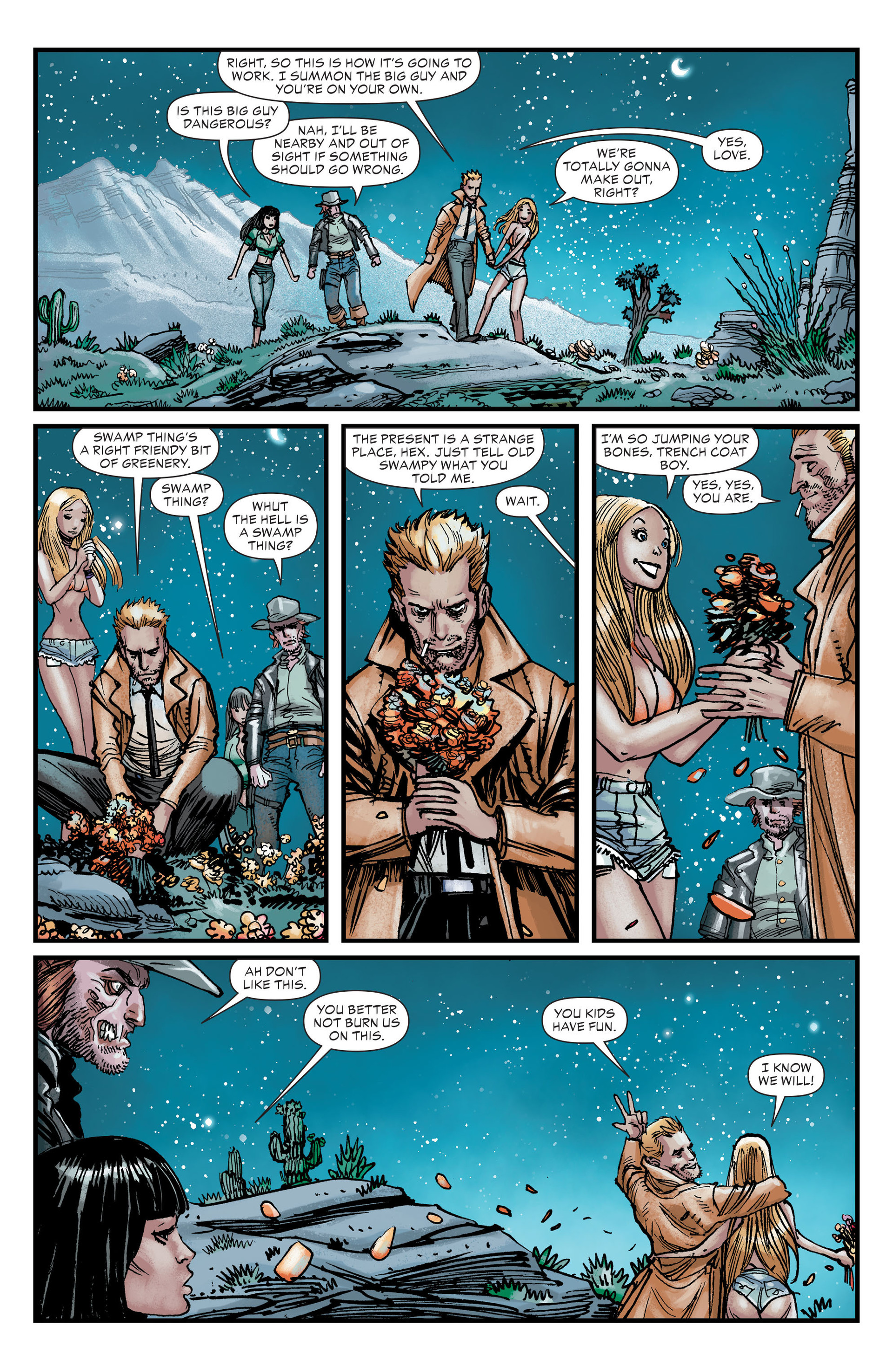 Read online All-Star Western (2011) comic -  Issue #25 - 16