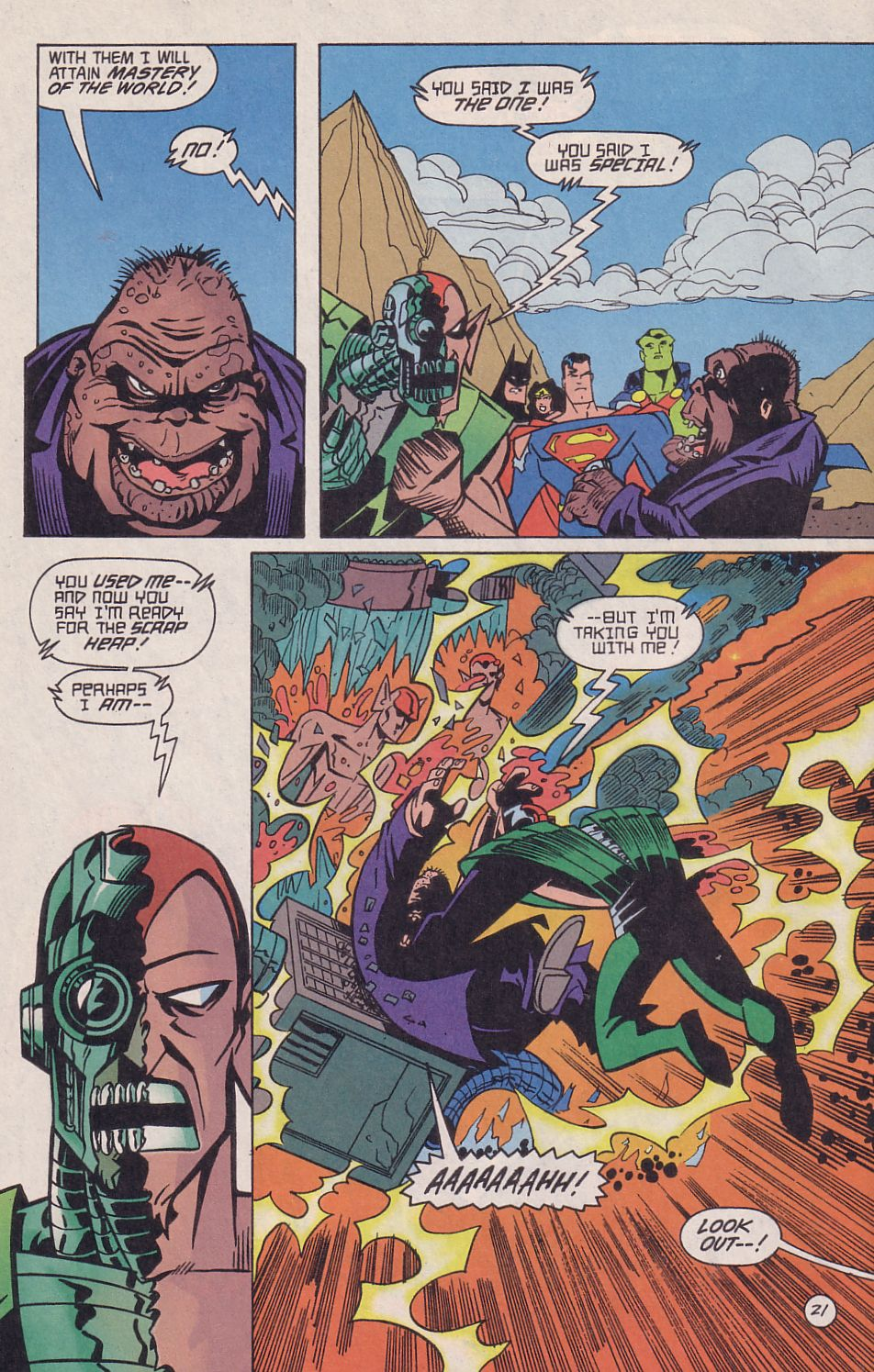 Read online Adventures in the DC Universe comic -  Issue #18 - 22