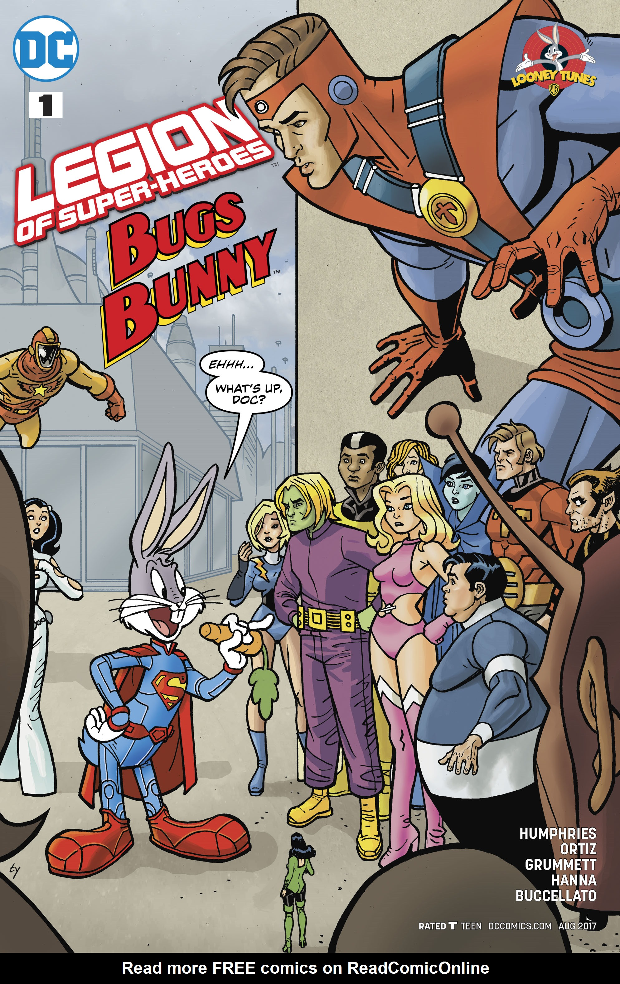 Read online Legion of Super-Heroes/Bugs Bunny Special comic -  Issue # Full - 3