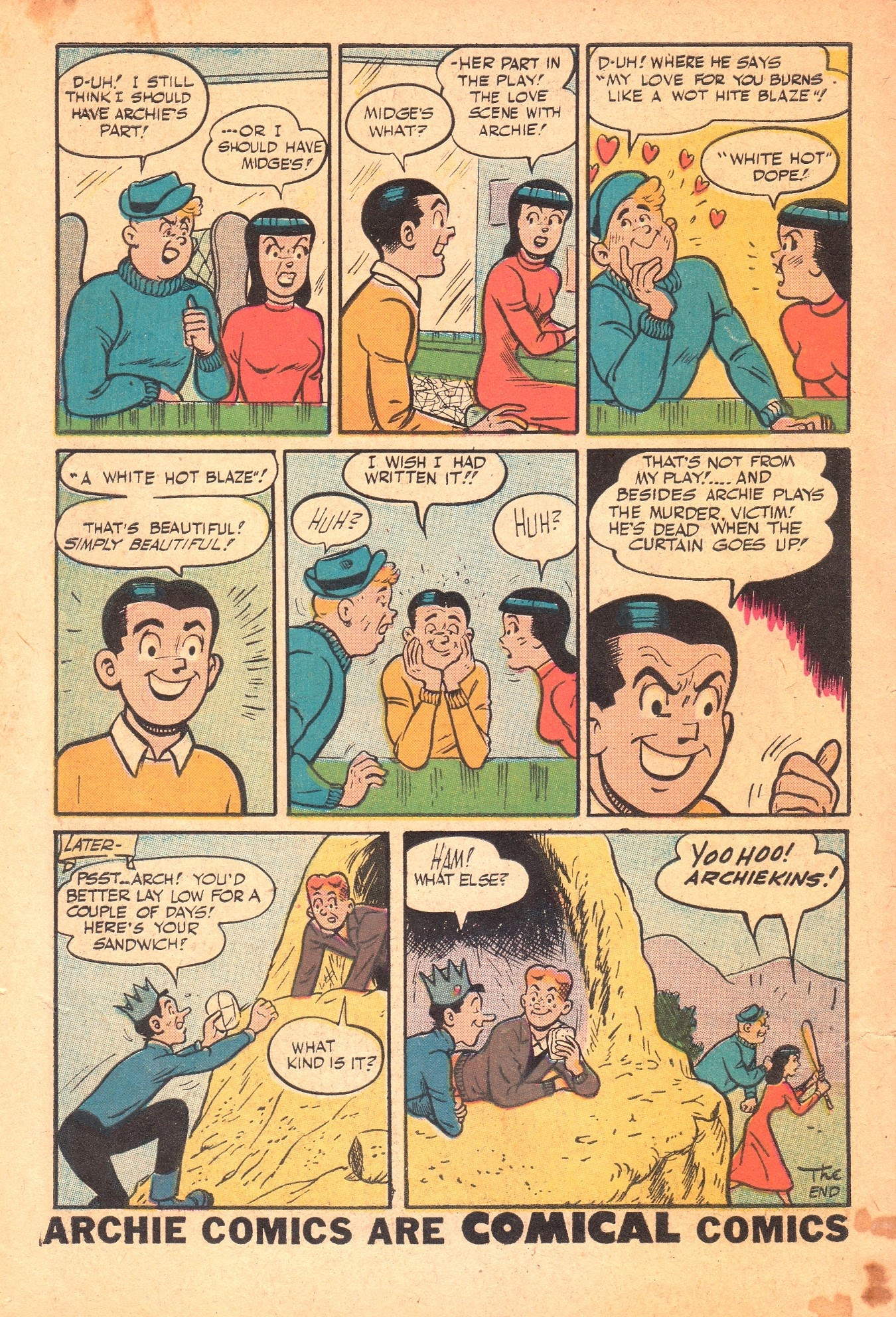Archie Comics issue 089 - Page 34