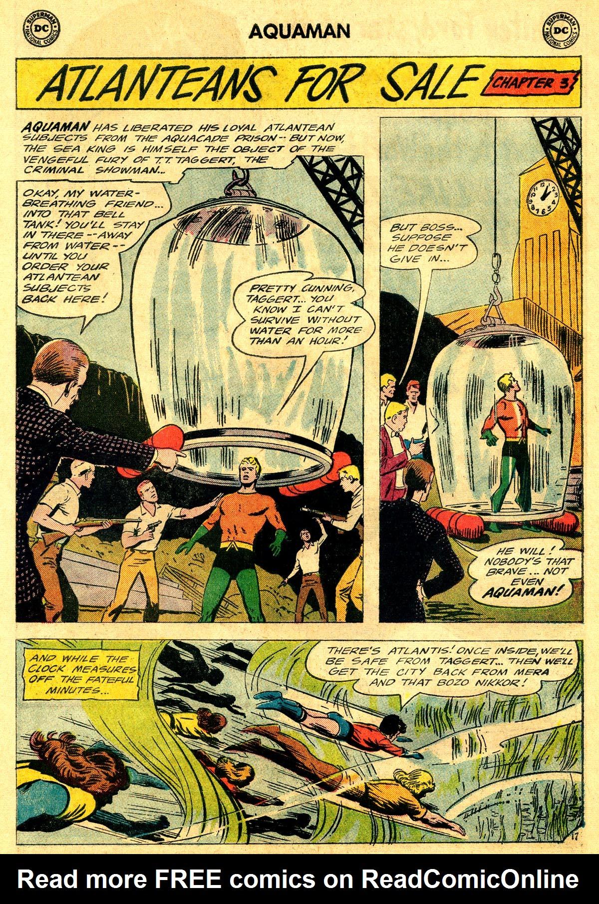 Read online Aquaman (1962) comic -  Issue #19 - 24