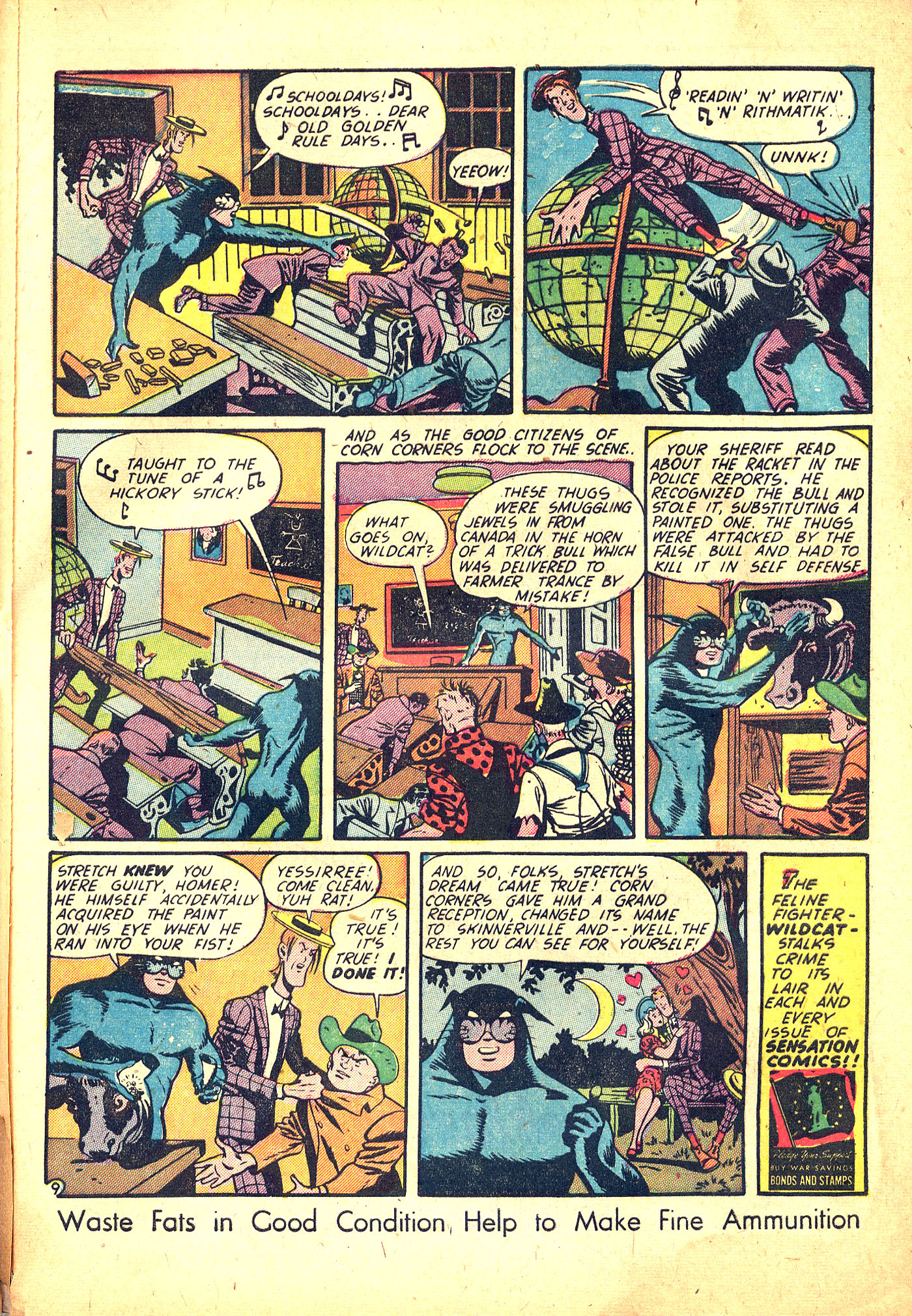 Read online Sensation (Mystery) Comics comic -  Issue #31 - 57