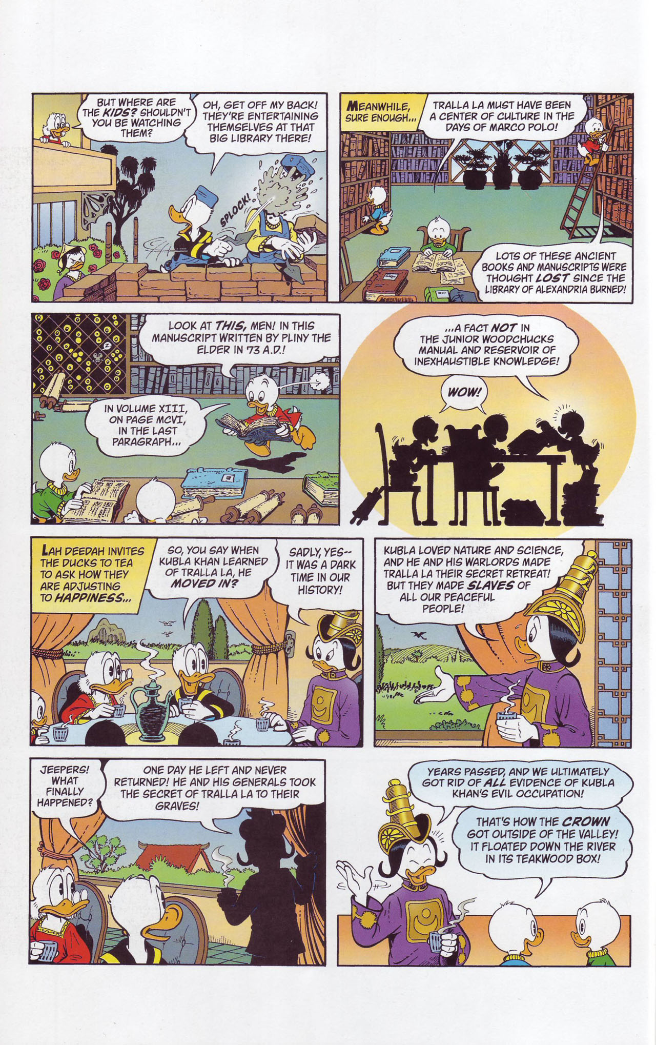 Read online Uncle Scrooge (1953) comic -  Issue #357 - 18