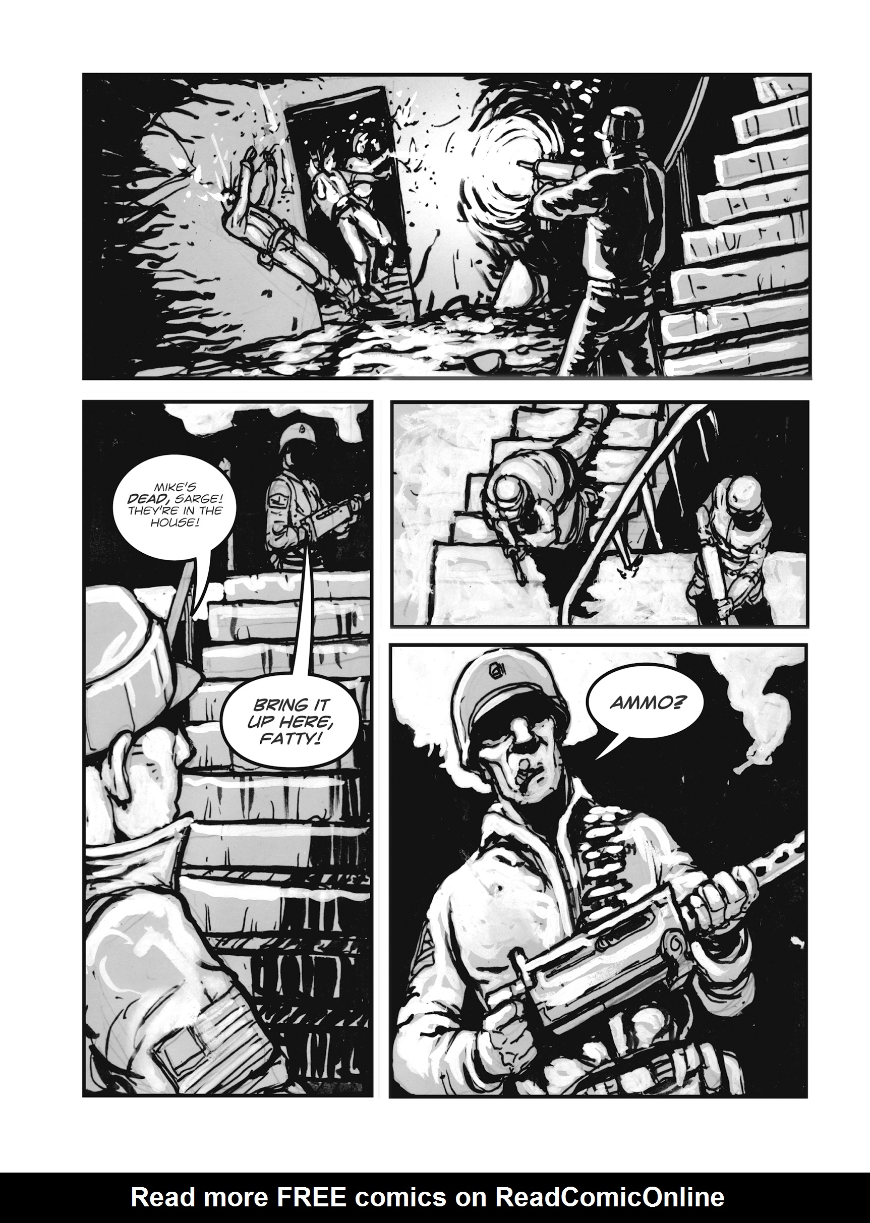 Read online FUBAR comic -  Issue #1 - 140