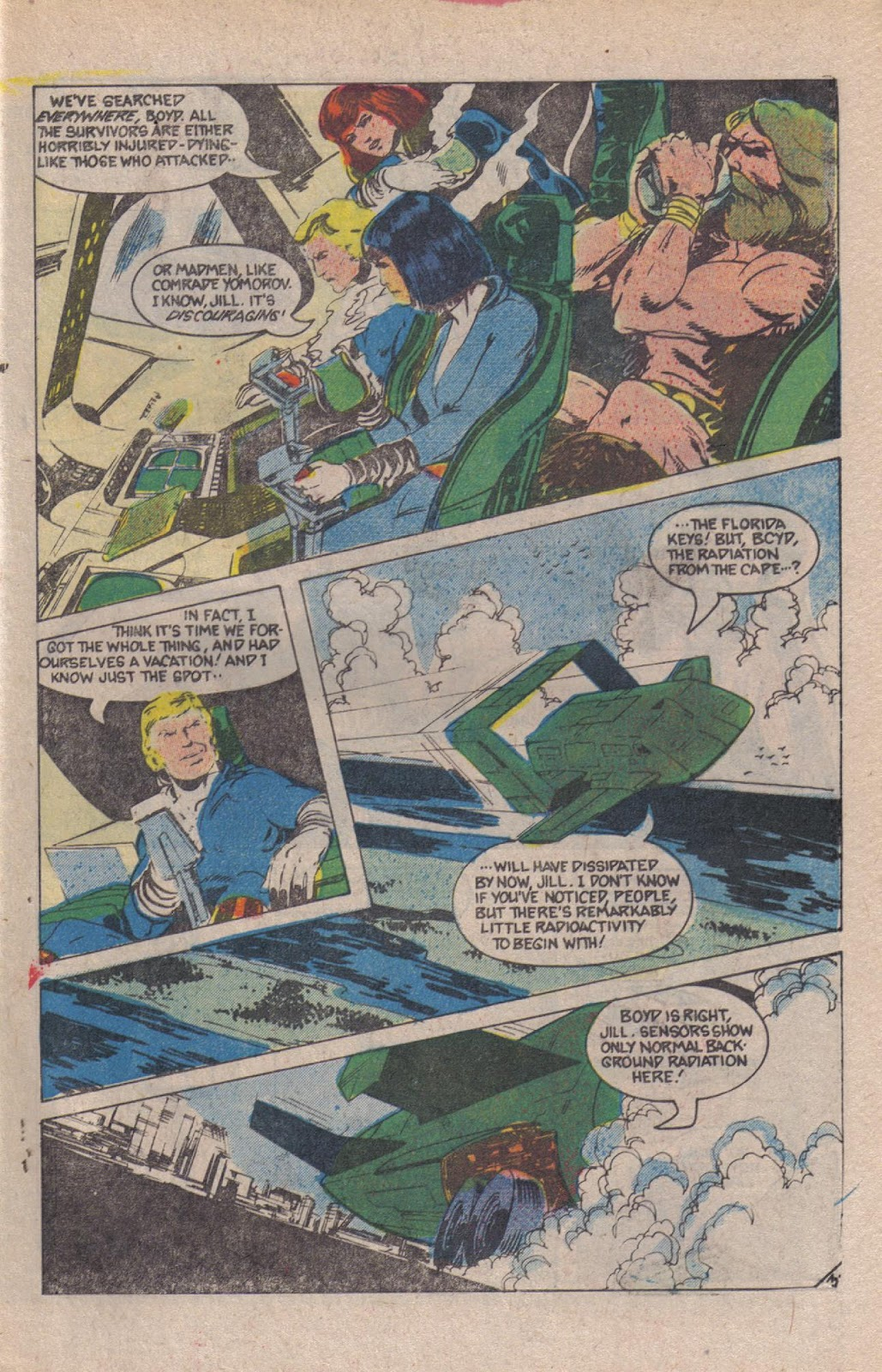 Read online Doomsday   1 (1975) comic -  Issue #12 - 5