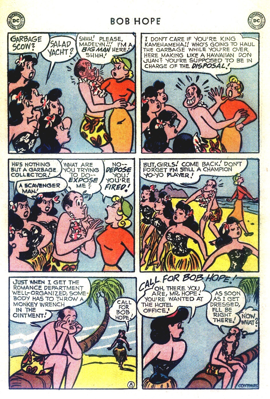 The Adventures of Bob Hope issue 27 - Page 22