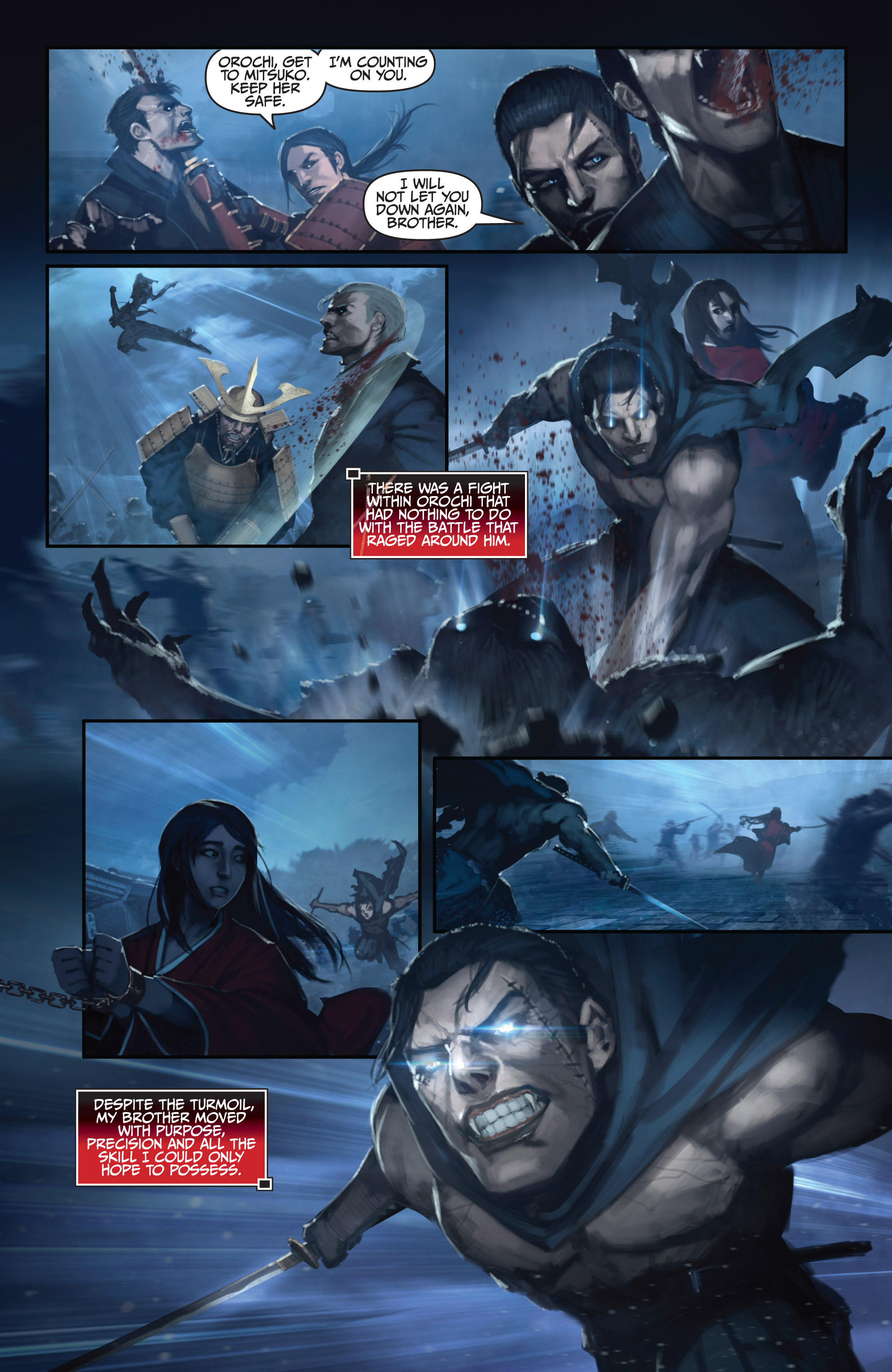 Read online Bushido: The Way of the Warrior comic -  Issue #5 - 12