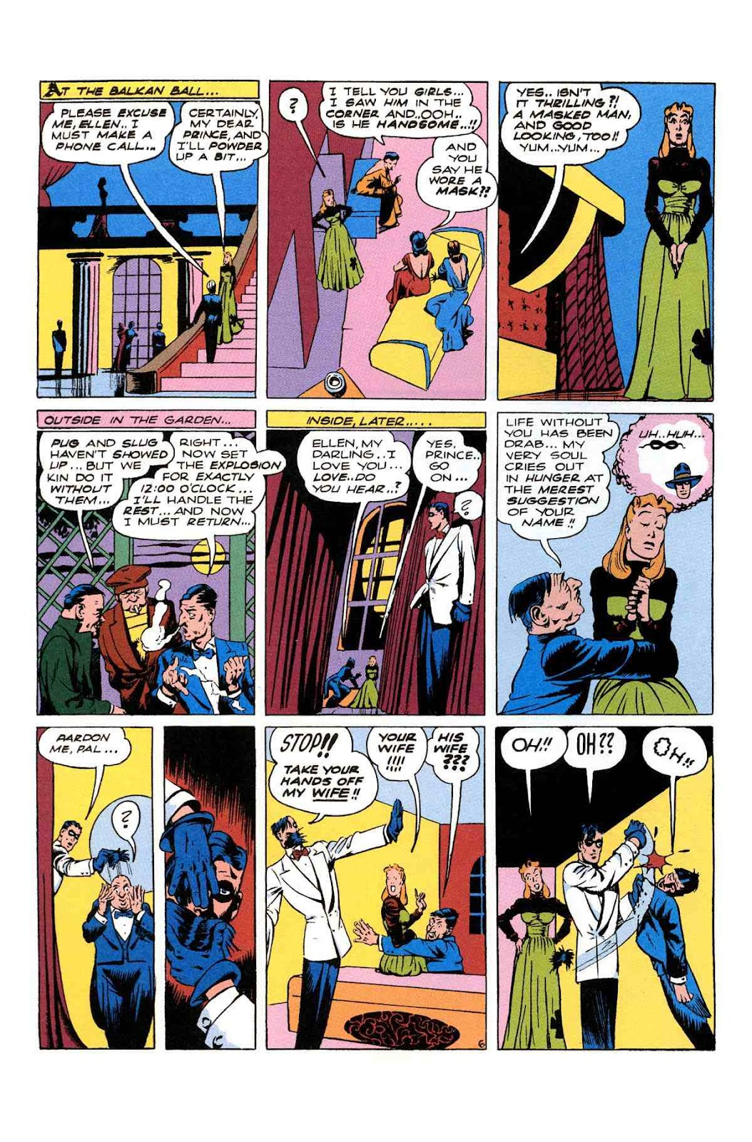 Read online Will Eisner's The Spirit Archives comic -  Issue # TPB 2 (Part 2) - 106