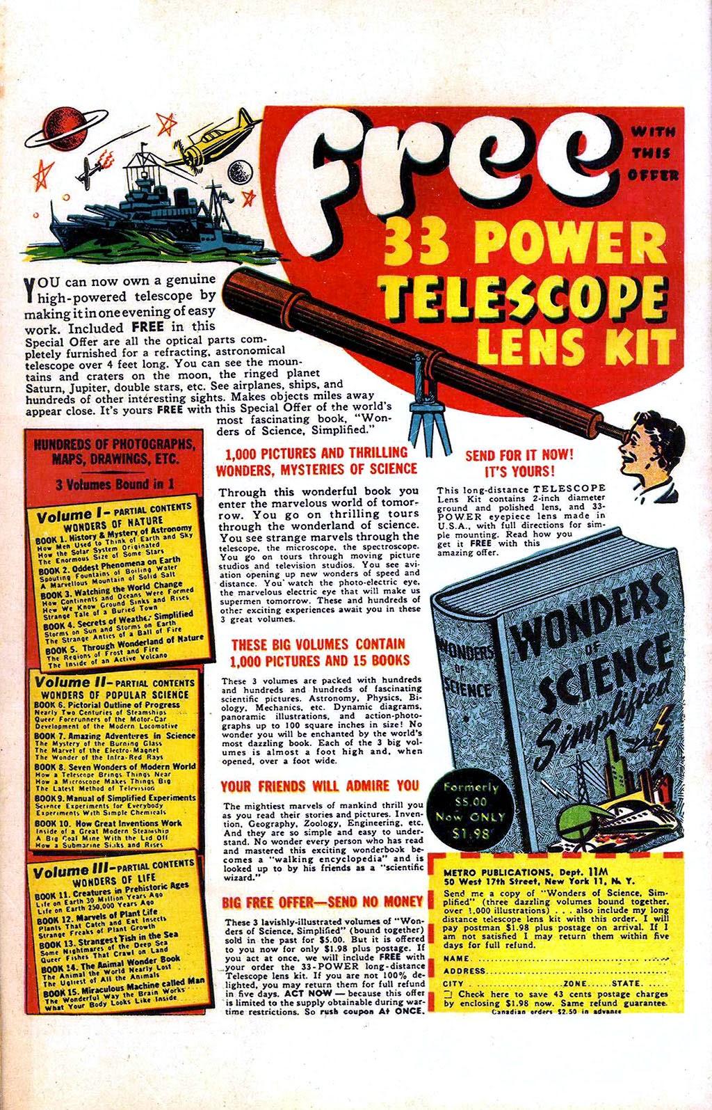 Read online Mystic Comics (1944) comic -  Issue #2 - 52