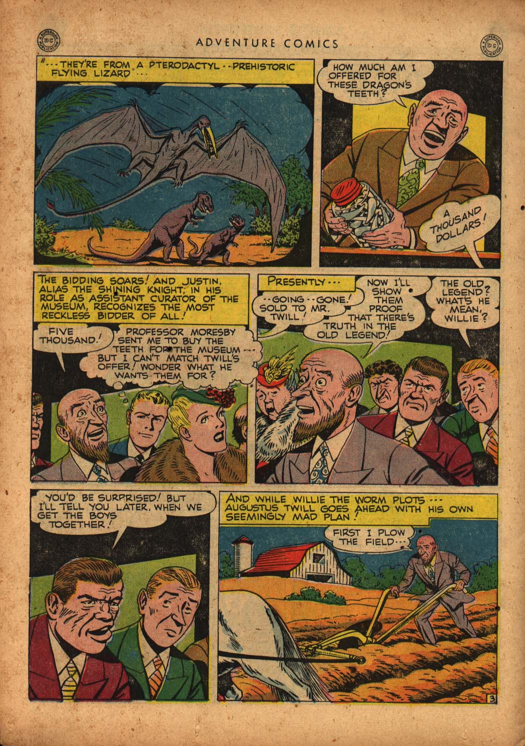 Read online Adventure Comics (1938) comic -  Issue #109 - 36