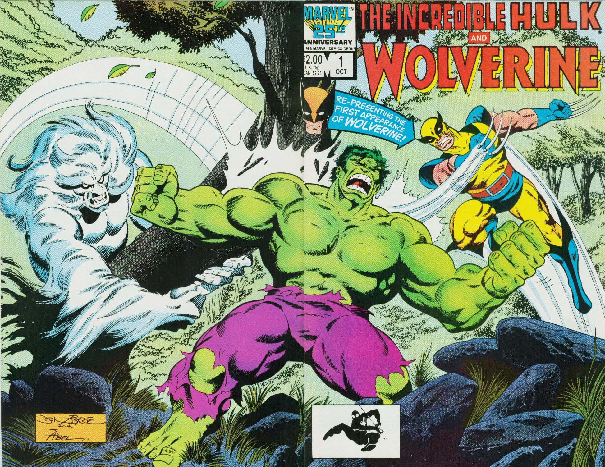 The Incredible Hulk and Wolverine Full Page 1