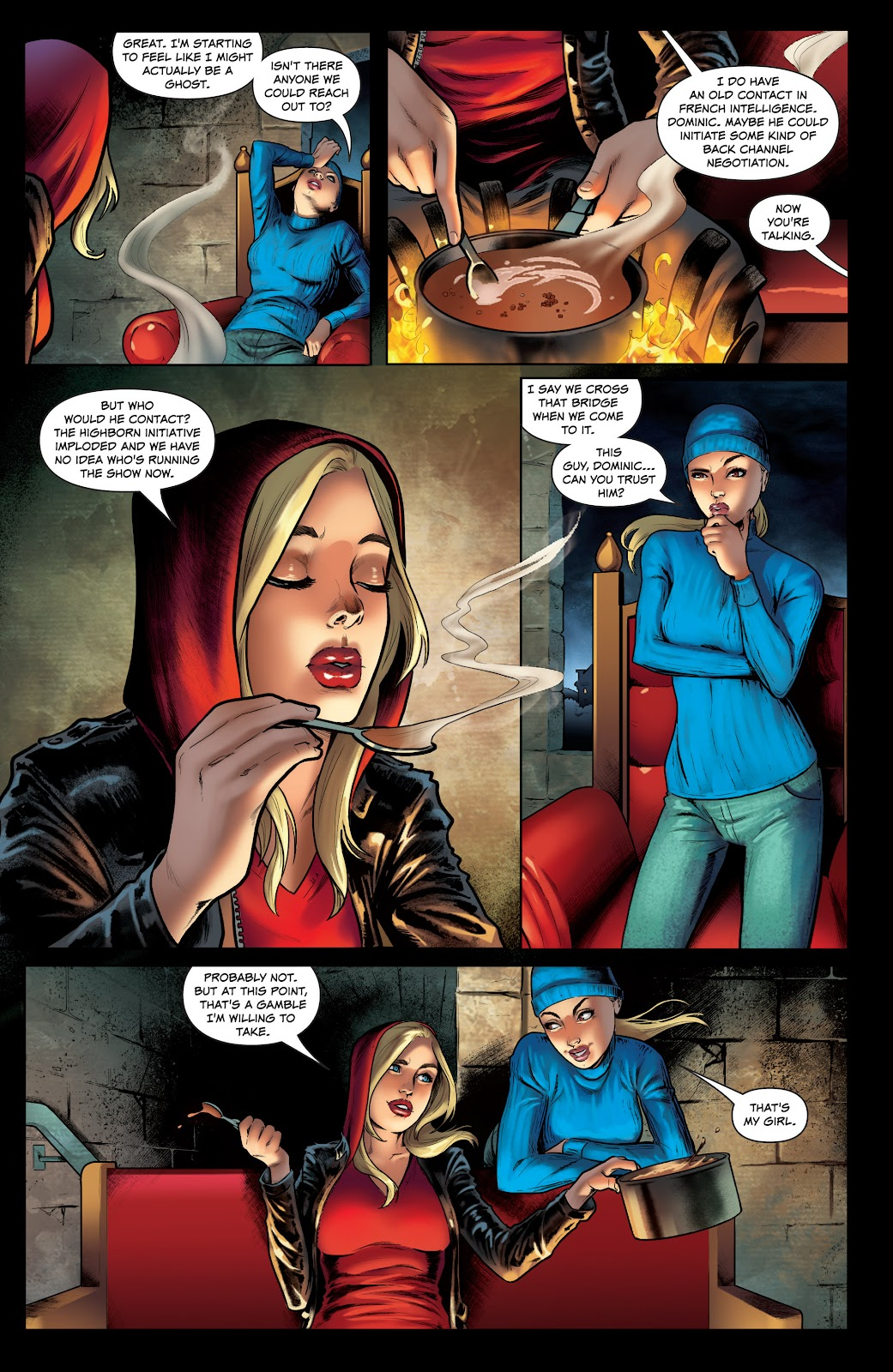 Read online Red Agent: Island of Dr Moreau comic -  Issue #1 - 8
