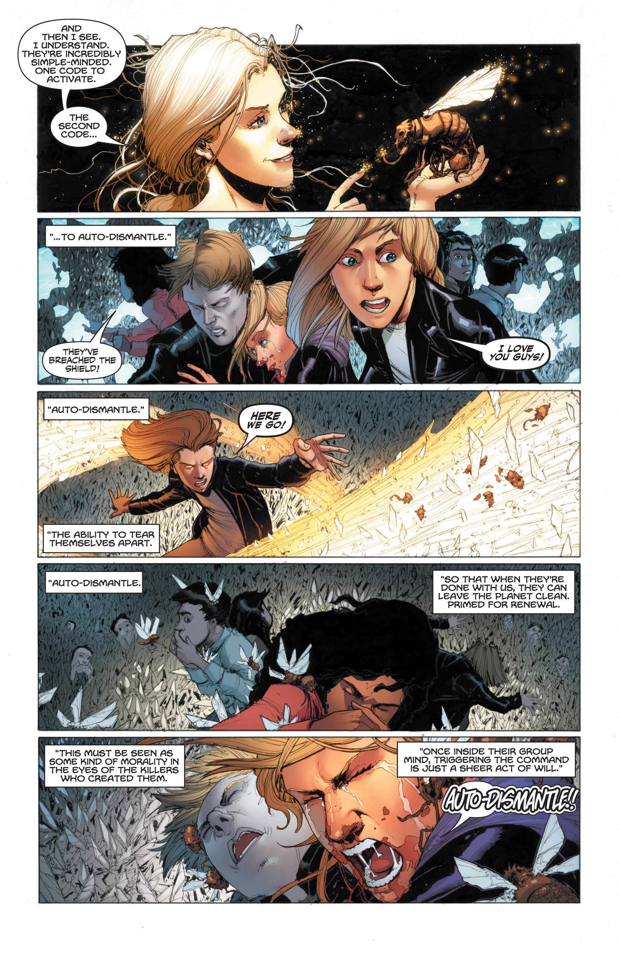 Read online Armor Hunters: Harbinger comic -  Issue # TPB - 71