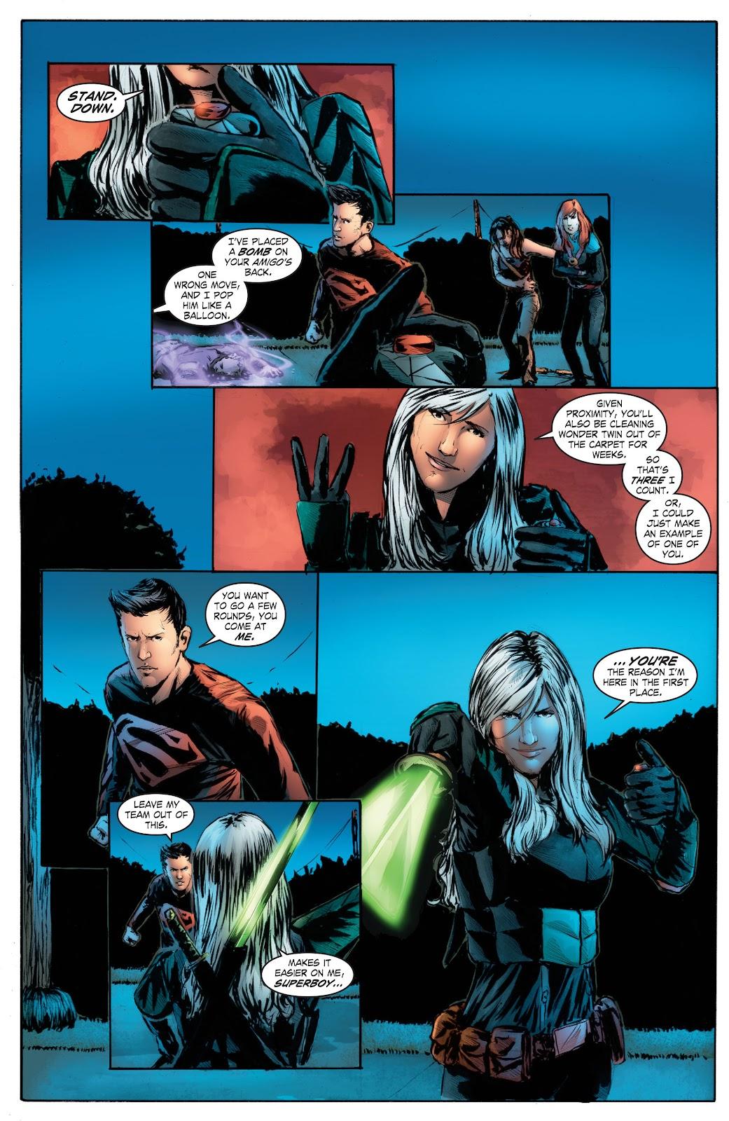 Read online Smallville Season 11 [II] comic -  Issue # TPB 7 - 163