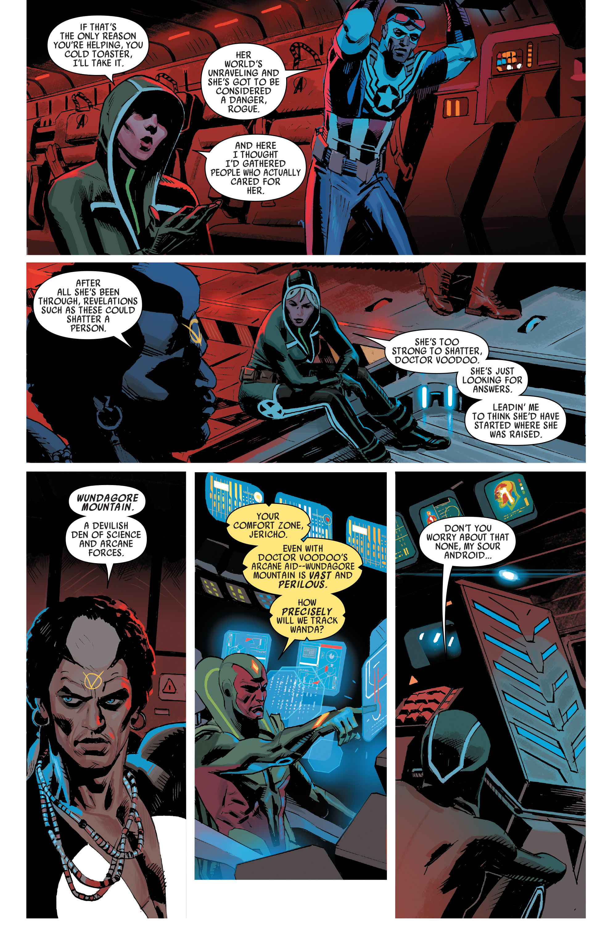 Read online Uncanny Avengers [I] comic -  Issue #1 - 10