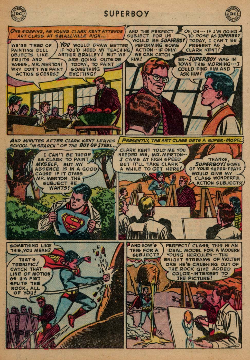 Superboy (1949) issue 25 - Page 3