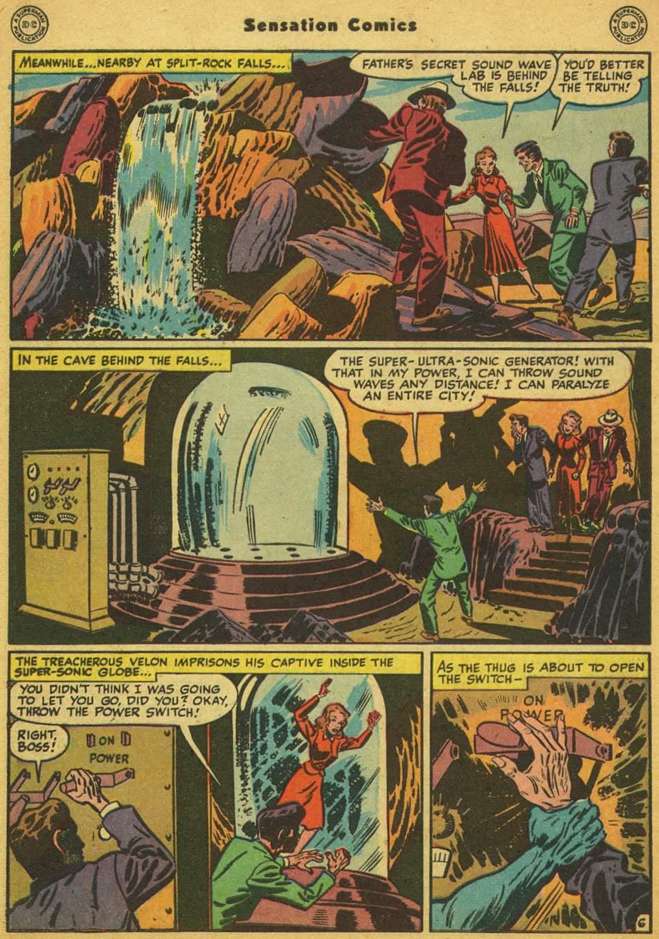 Read online Sensation (Mystery) Comics comic -  Issue #80 - 47