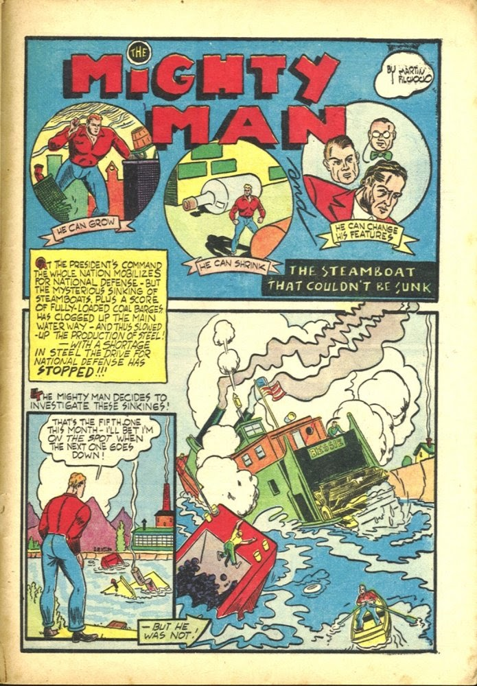 Read online Amazing Man Comics comic -  Issue #23 - 57