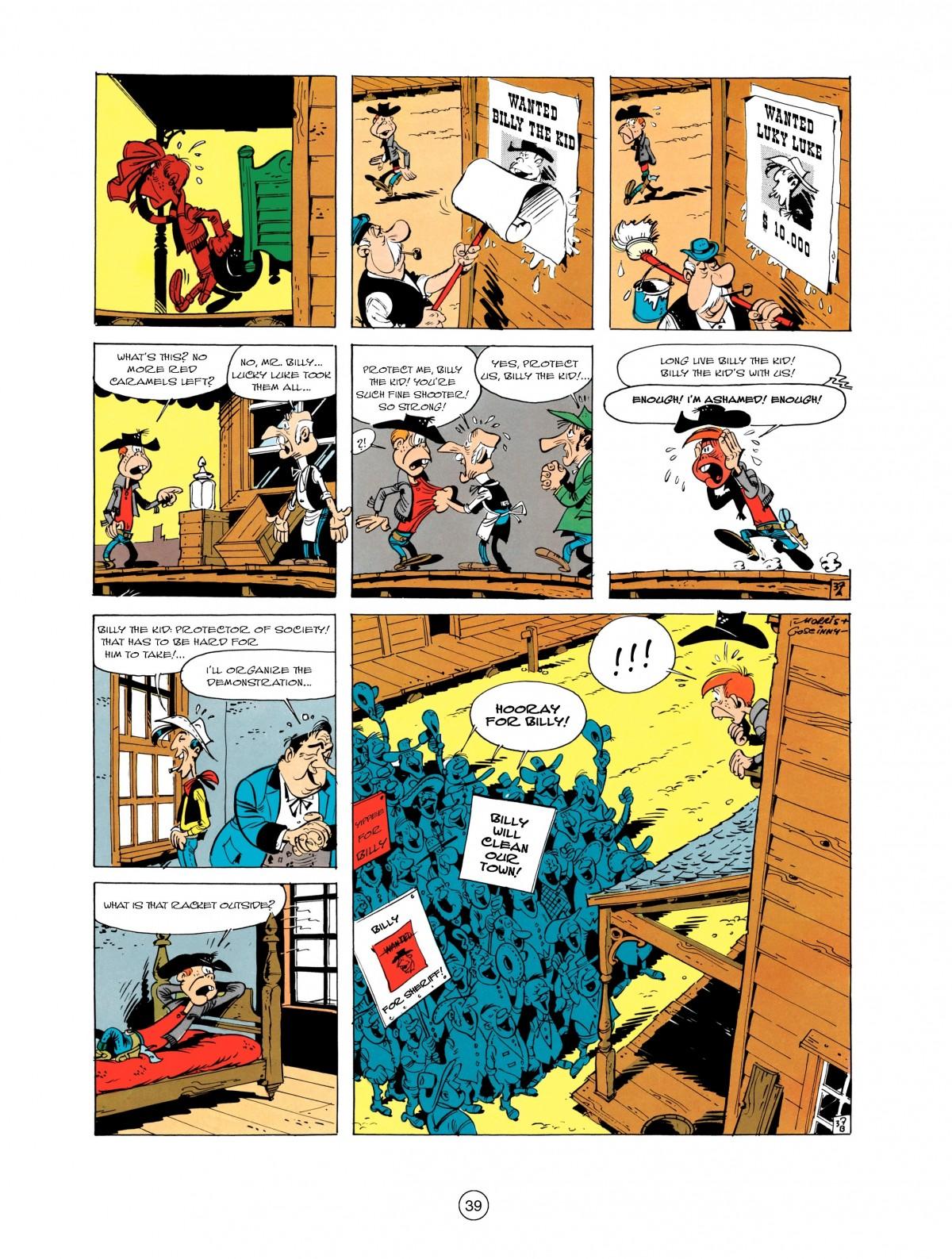 Read online A Lucky Luke Adventure comic -  Issue #1 - 41