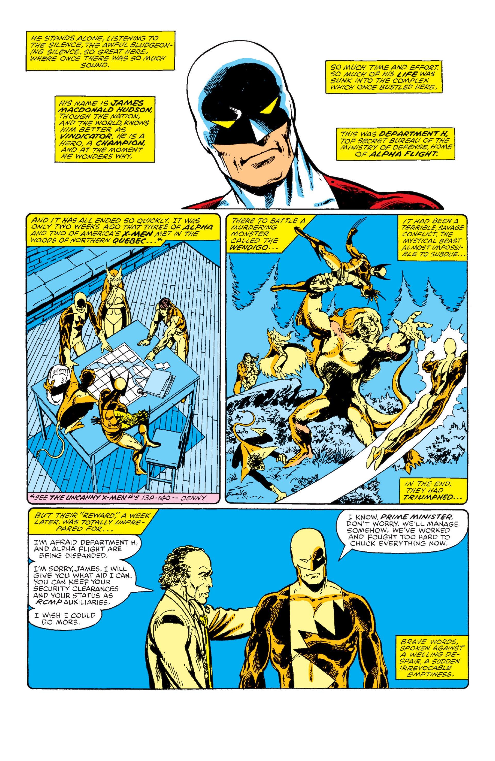 Read online Alpha Flight (1983) comic -  Issue #1 - 3