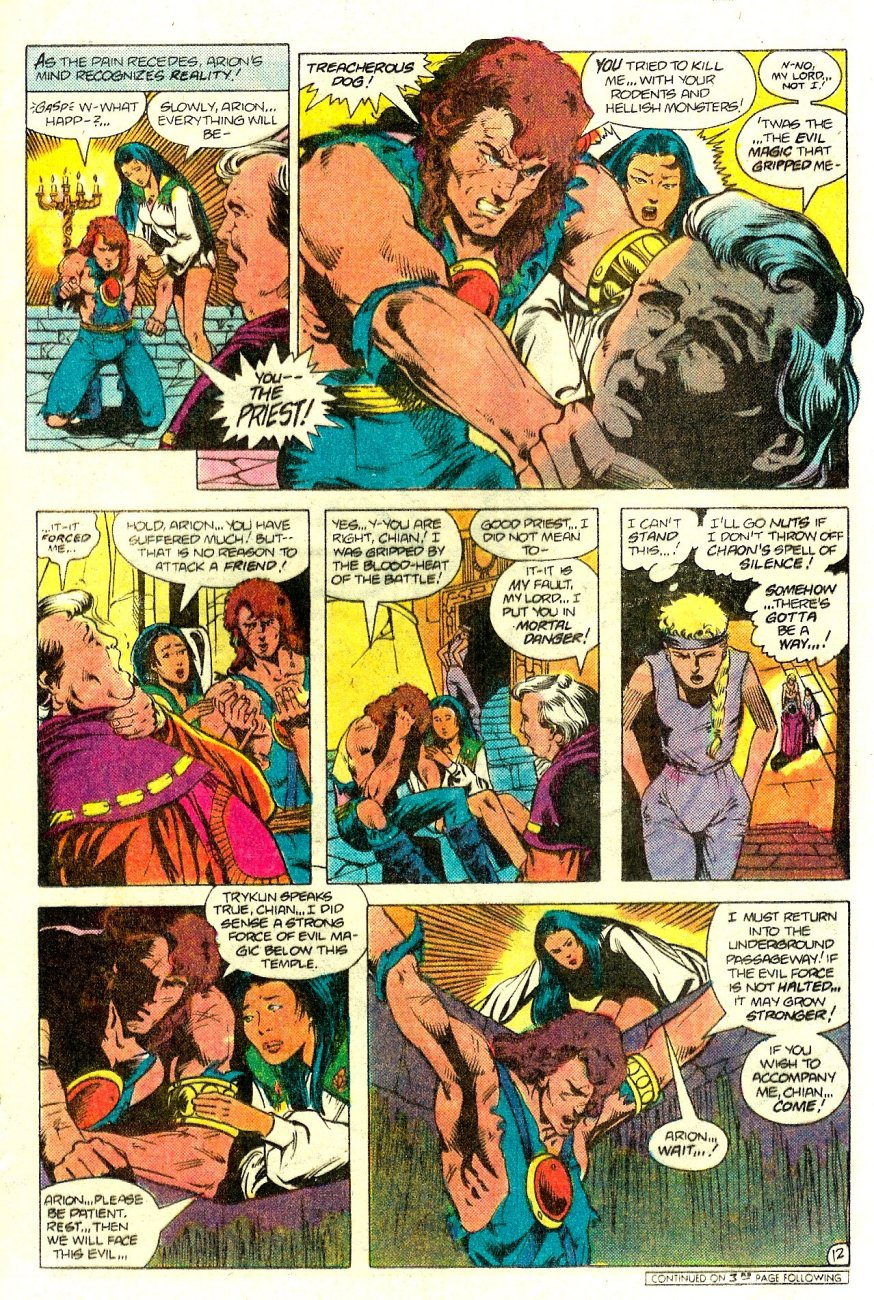 Read online Arion, Lord of Atlantis comic -  Issue #15 - 13