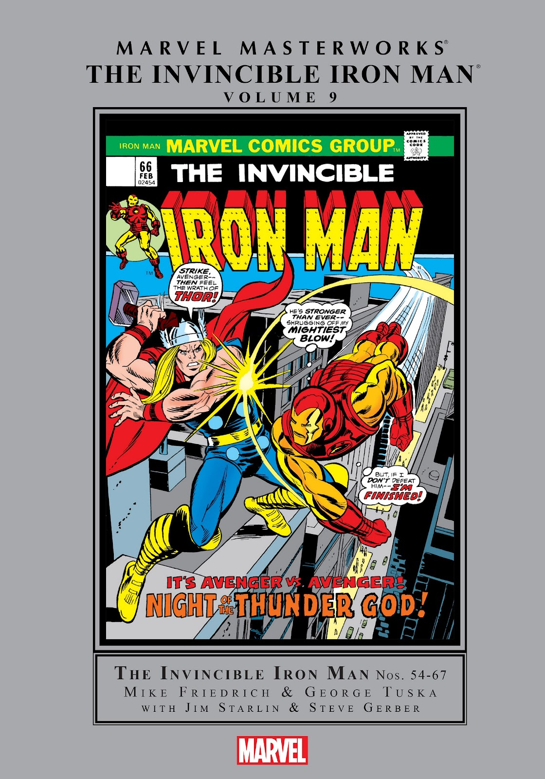 Read online Marvel Masterworks: The Invincible Iron Man comic -  Issue # TPB 9 (Part 1) - 1