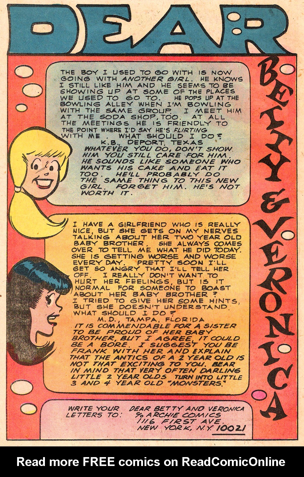 Read online Archie's Girls Betty and Veronica comic -  Issue #258 - 26