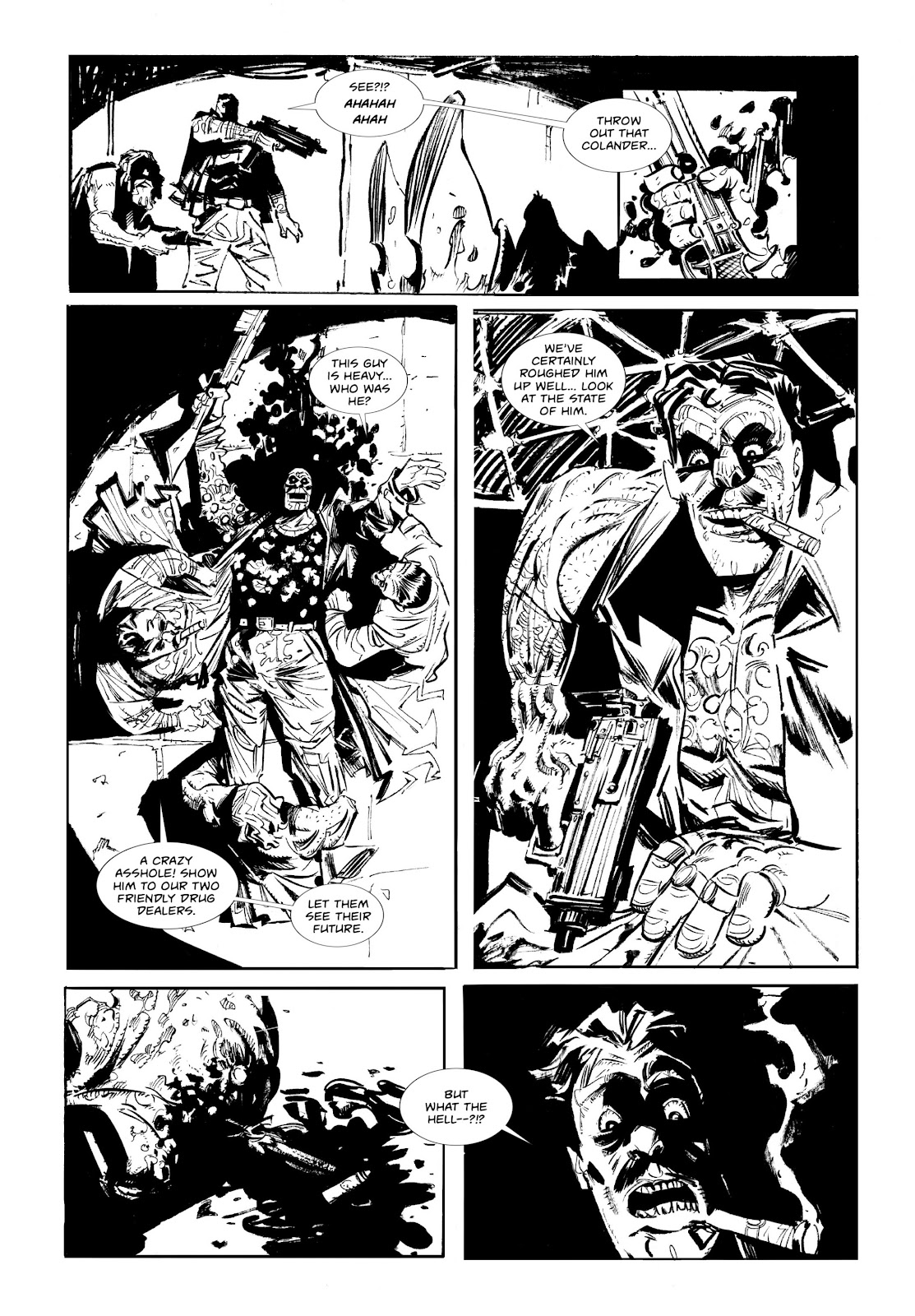 Read online Wrath of God comic -  Issue # _TPB - 15