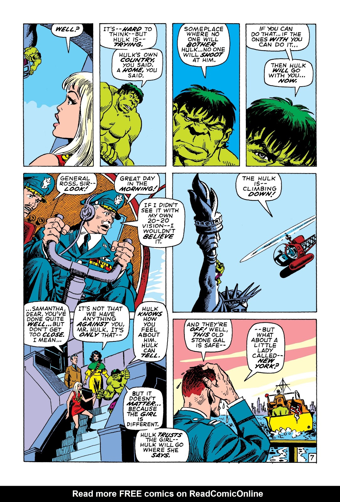Read online Marvel Masterworks: The Incredible Hulk comic -  Issue # TPB 7 (Part 2) - 74