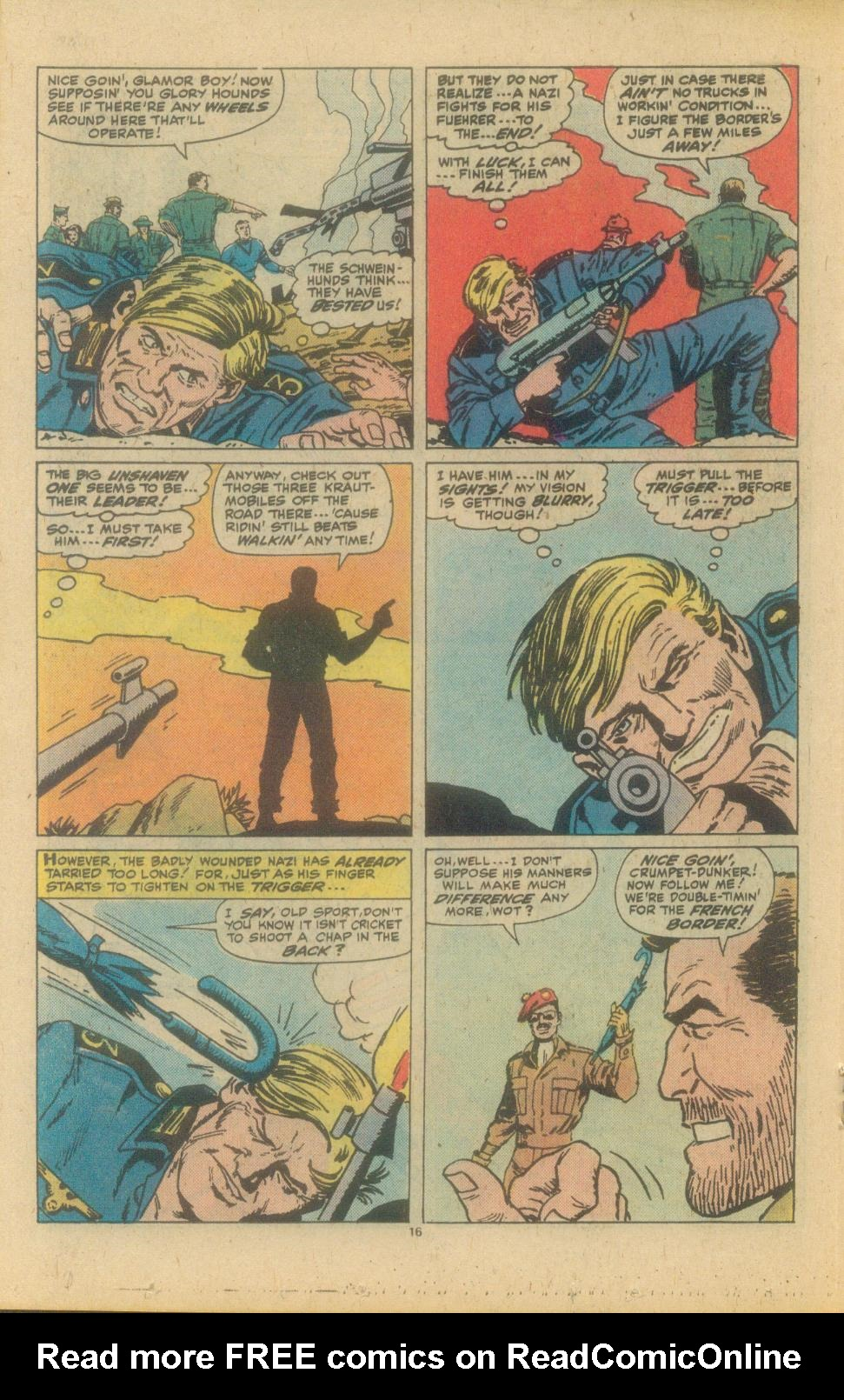 Read online Sgt. Fury comic -  Issue #150 - 18